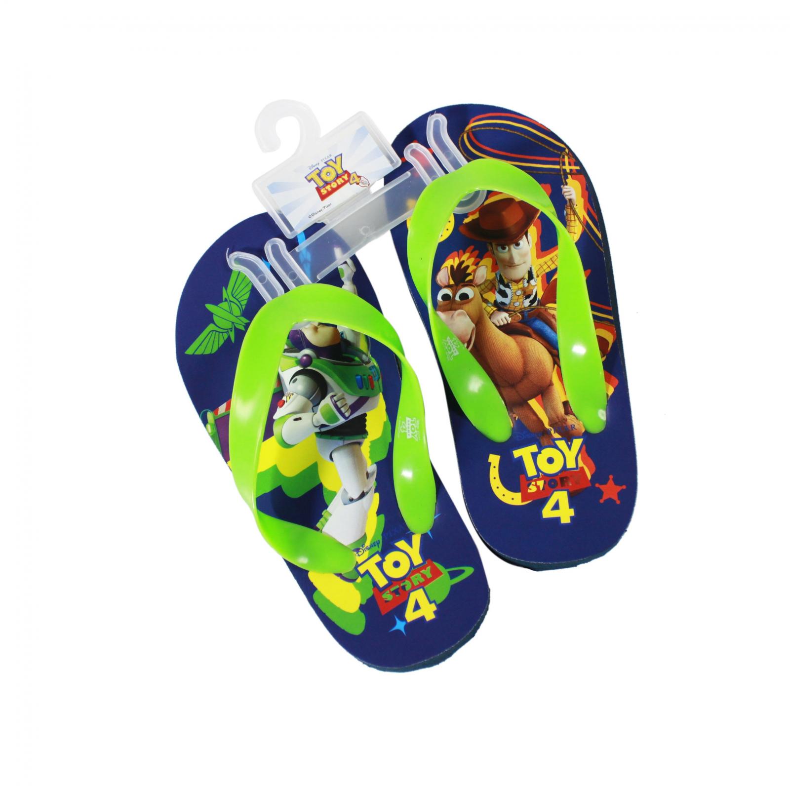 Disney Pixar Toy Story 4 Kid Sandals Green Strap Small 11/12
