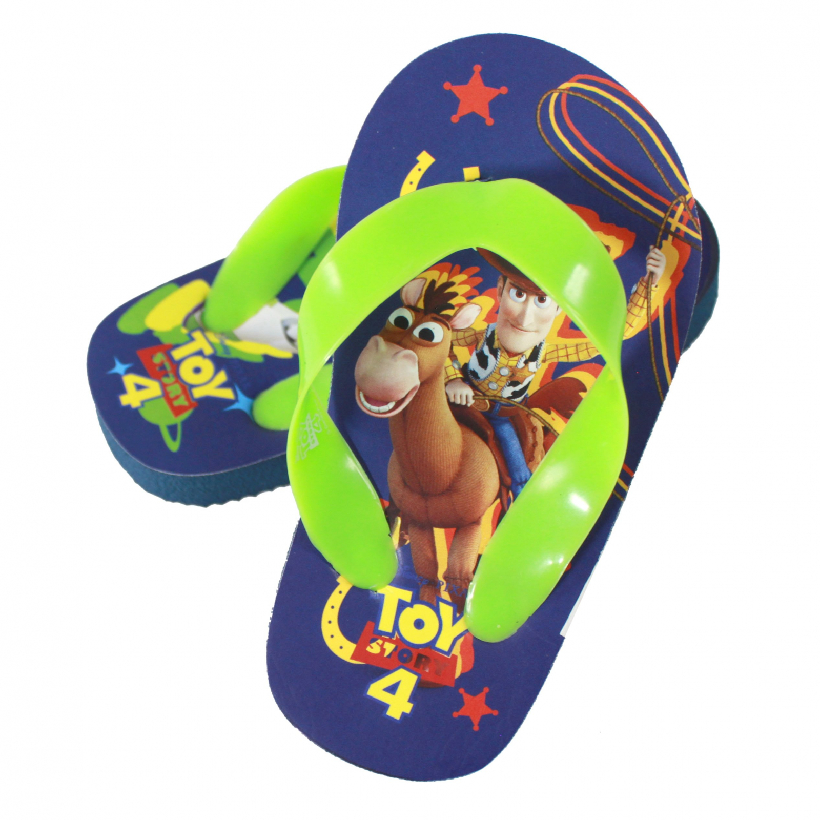Disney Pixar Toy Story 4 Kid Sandals Green Strap Medium 13/1