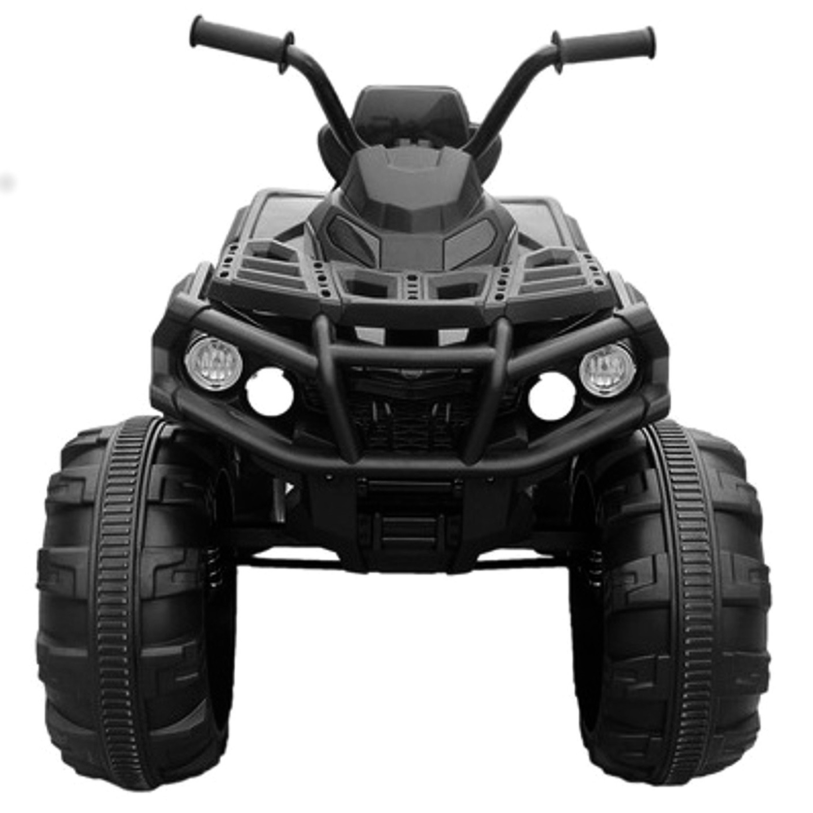 KidPlay Products Kids Ride On Sporty ATV 12V Battery Powered Rider - Black