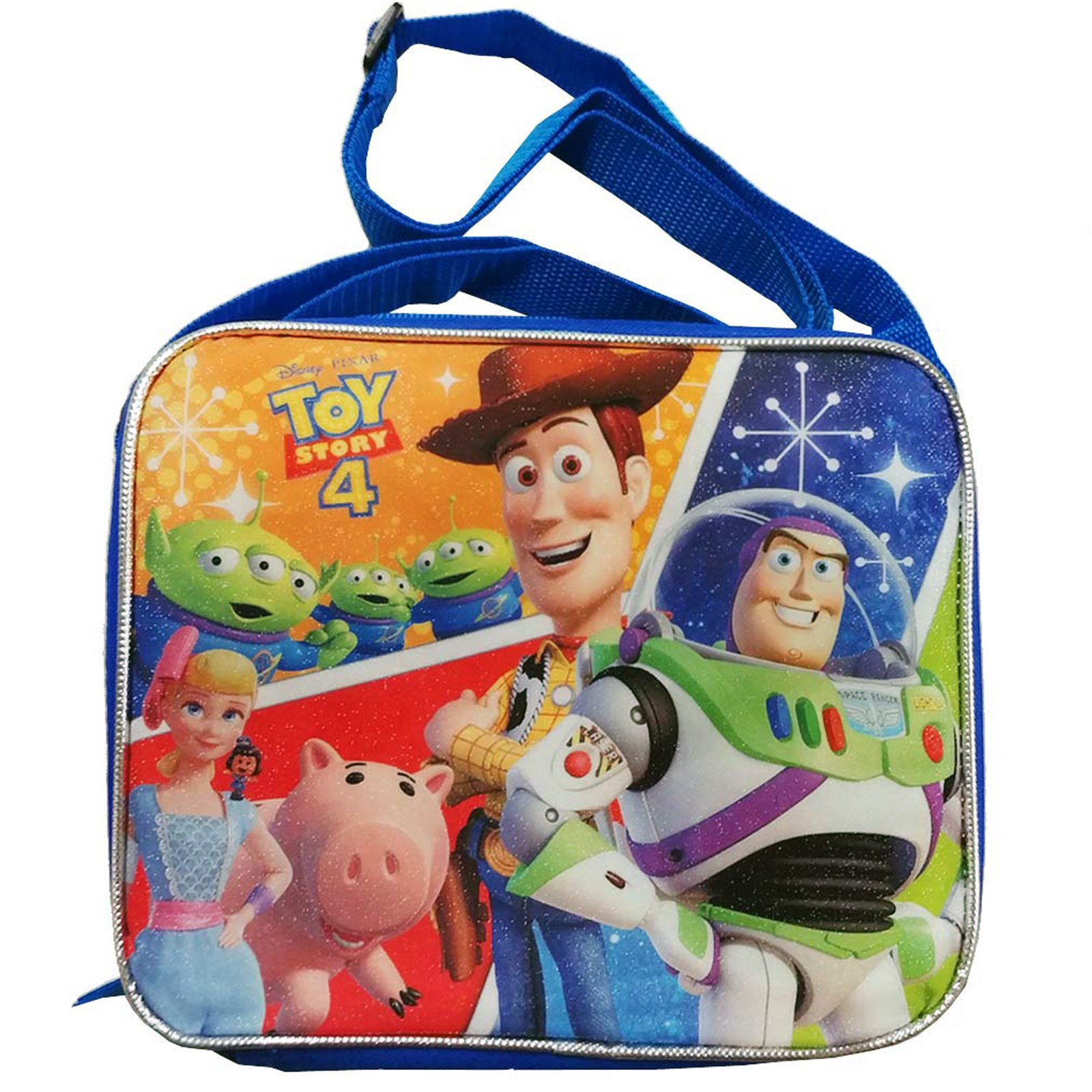 Disney Pixar Toy Story 4 Kids Insulated Lunch Box Bag Shoulder Strap School