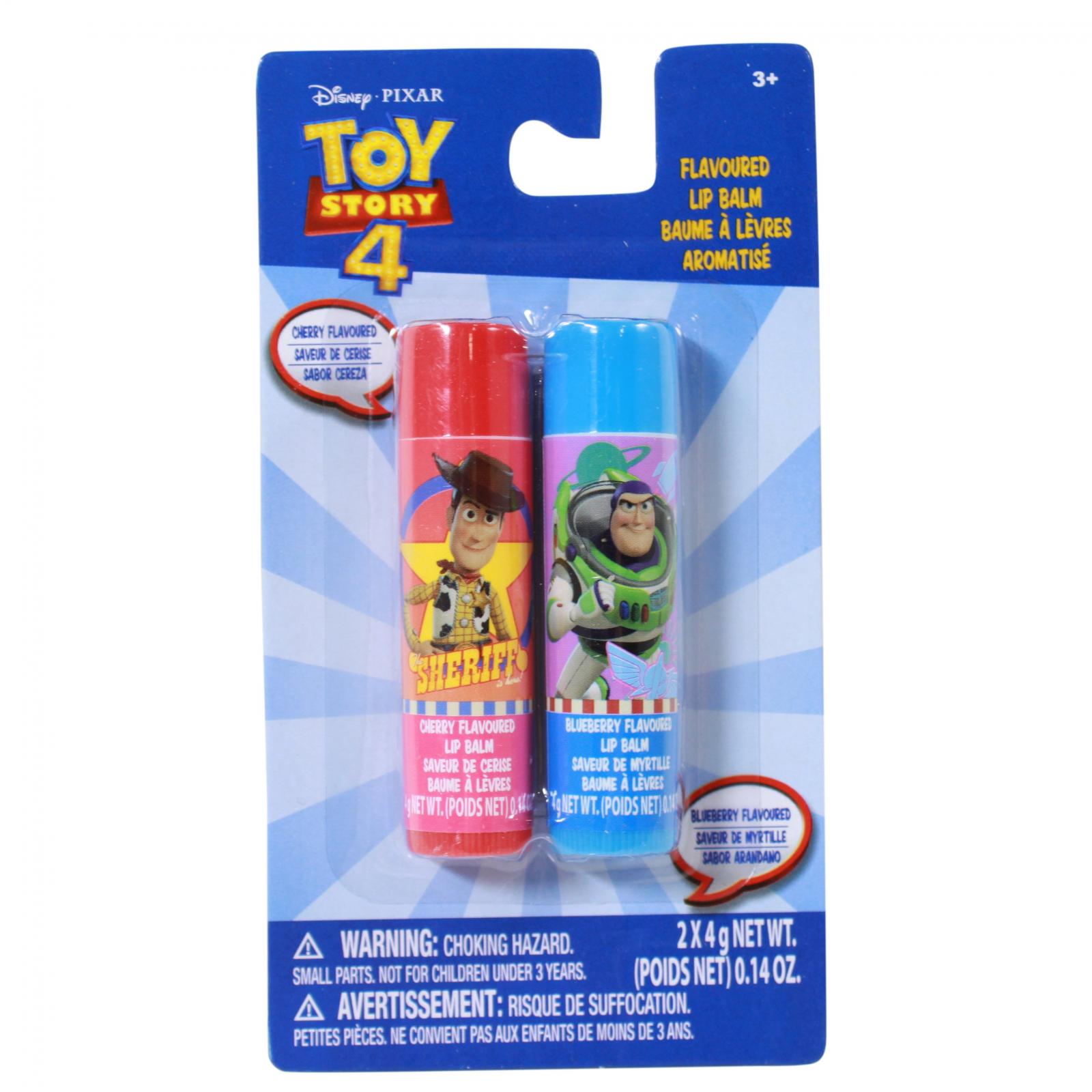 Disney Toy Story 4 Buzz Lightyear Woody 2 Pack Lip Balm