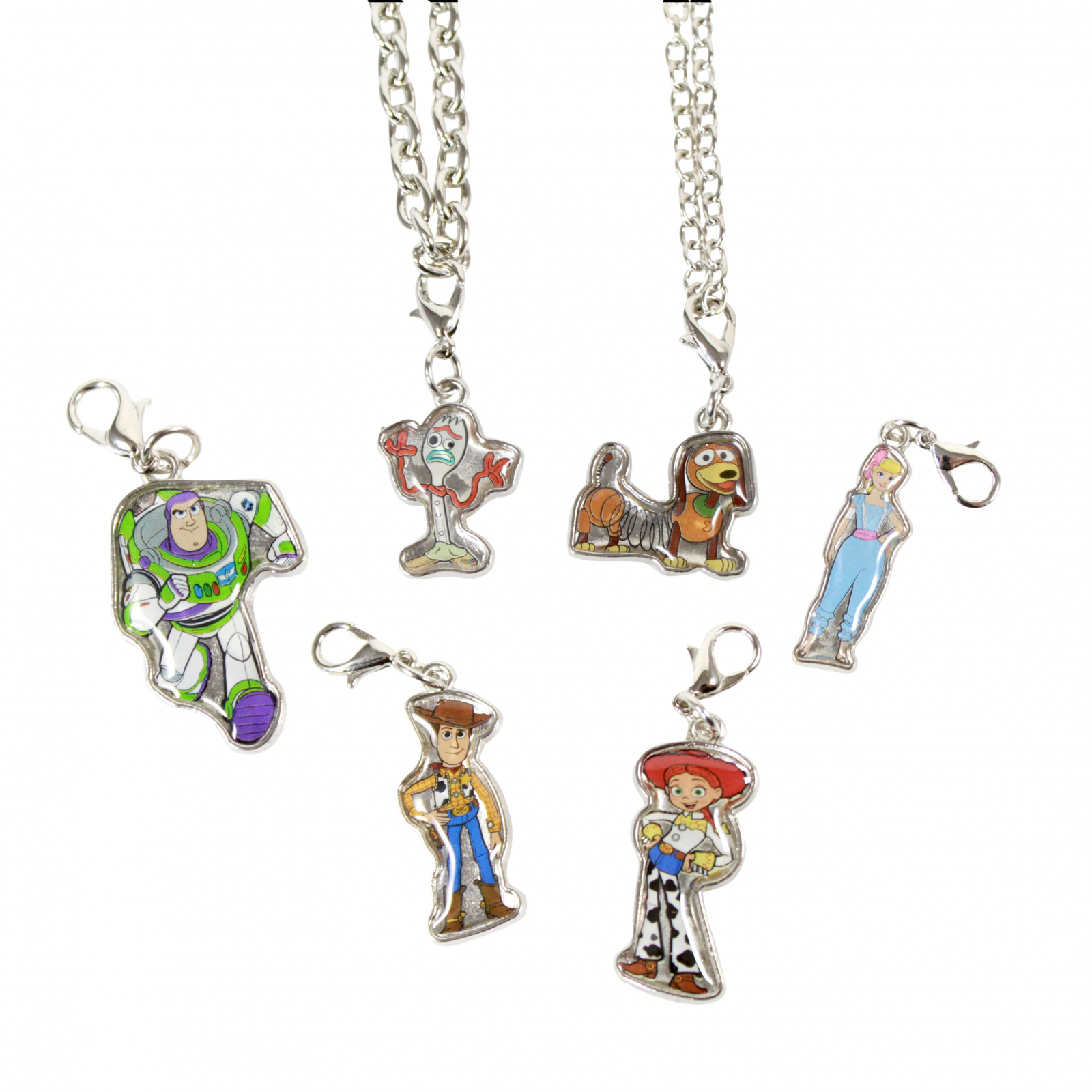 Toy Story 4 Add-A-Charm Necklace and Bracelet Jewelry Set