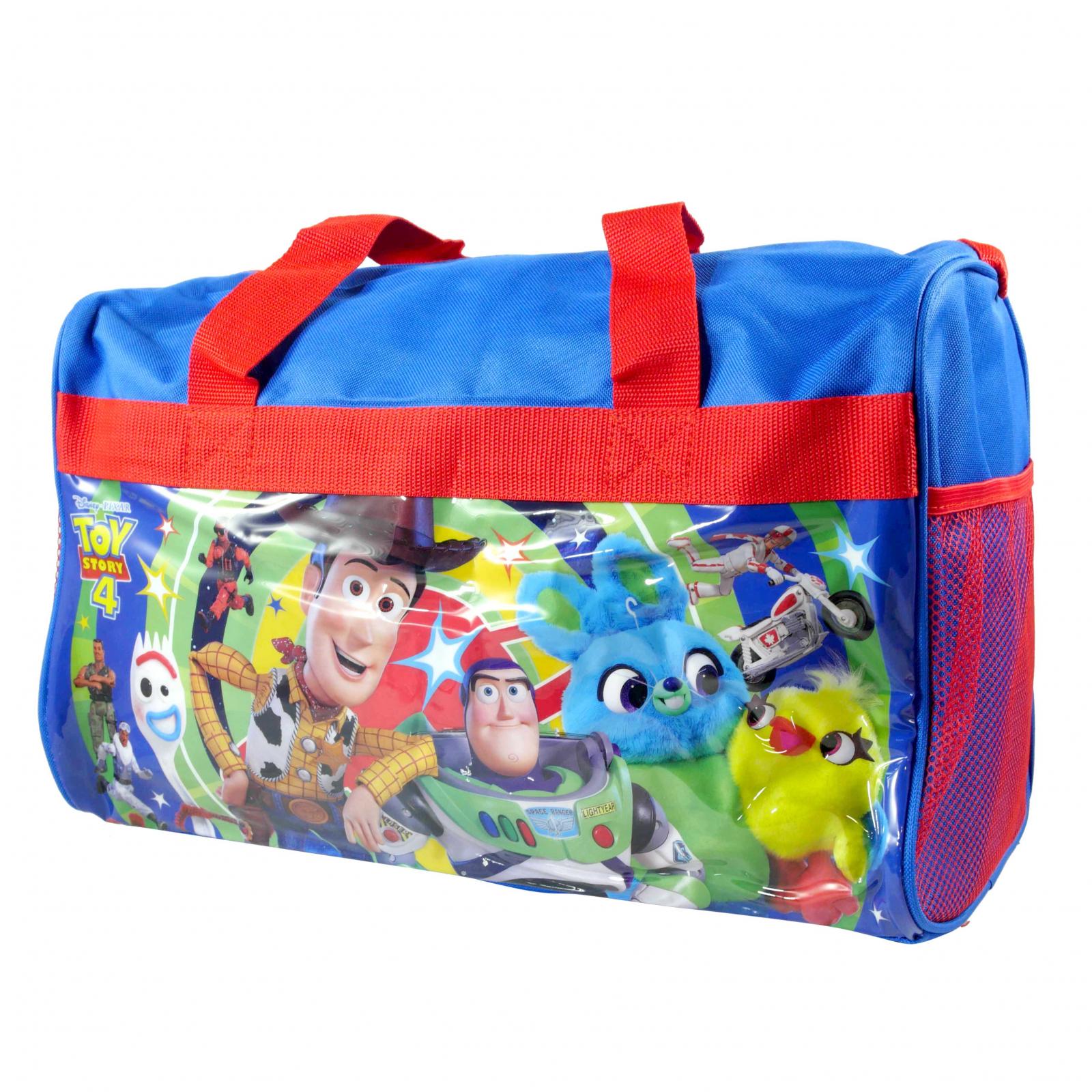 Disney Pixar Toy Story 4 Travel Duffel Bag Luggage For Kids