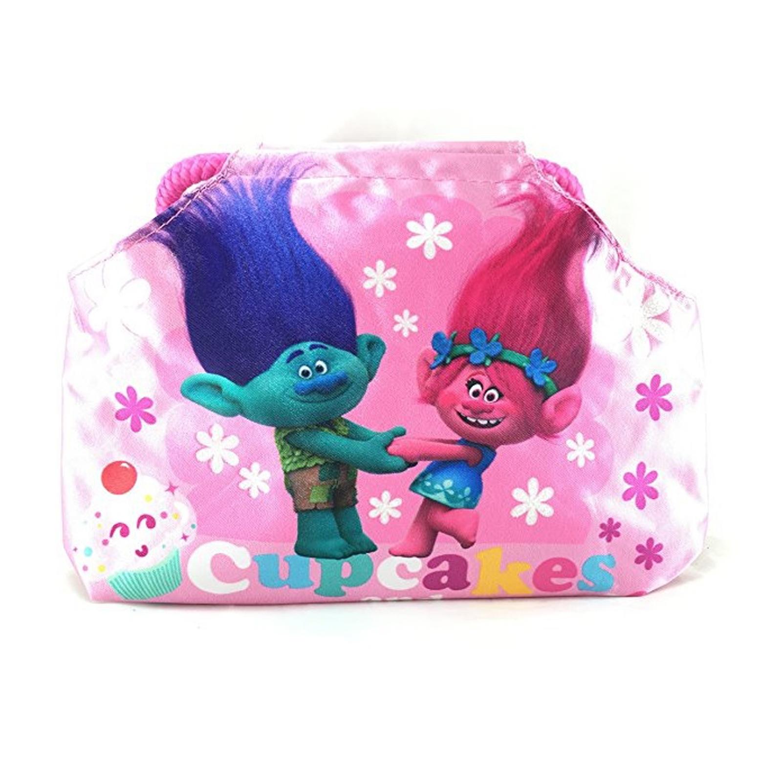 Dreamworks Trolls Cupcakes Girl's Dress Up Accessory Purse - Poppy and Guy Diamond