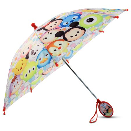 Disney Friends Tsum Tsum Character Kids Umbrella Outdoor Parasol Molded Handle