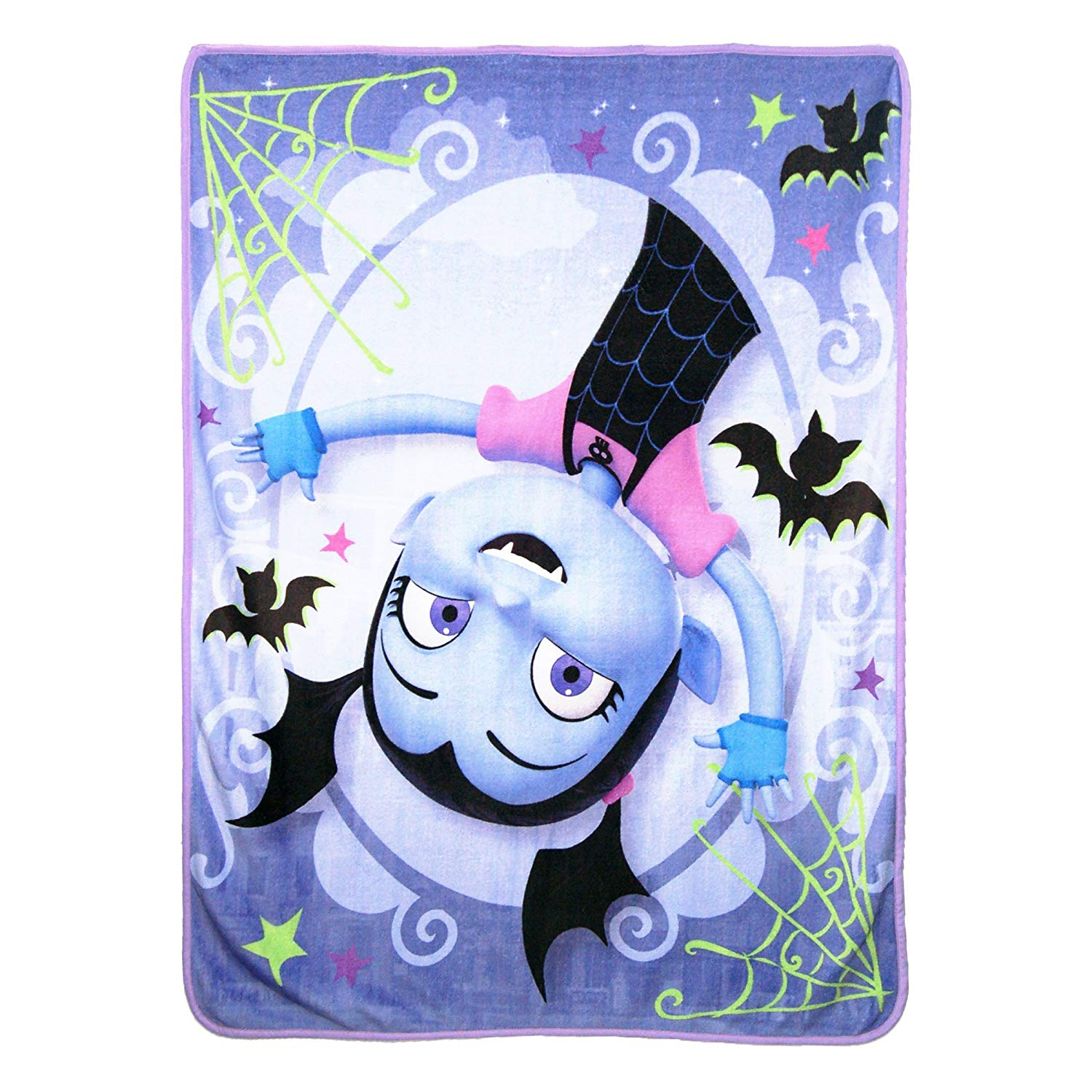 Disney Batty Vee Vampirina Fleece Throw Blanket Kids Home Decor 45 x 60 Inch