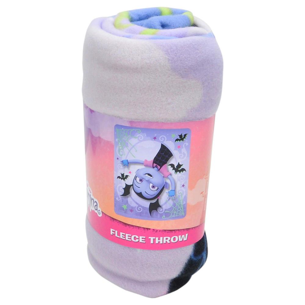Disney Batty Vee Vampirina Fleece Throw Blanket Kids Home Decor 45 x 60 Inch