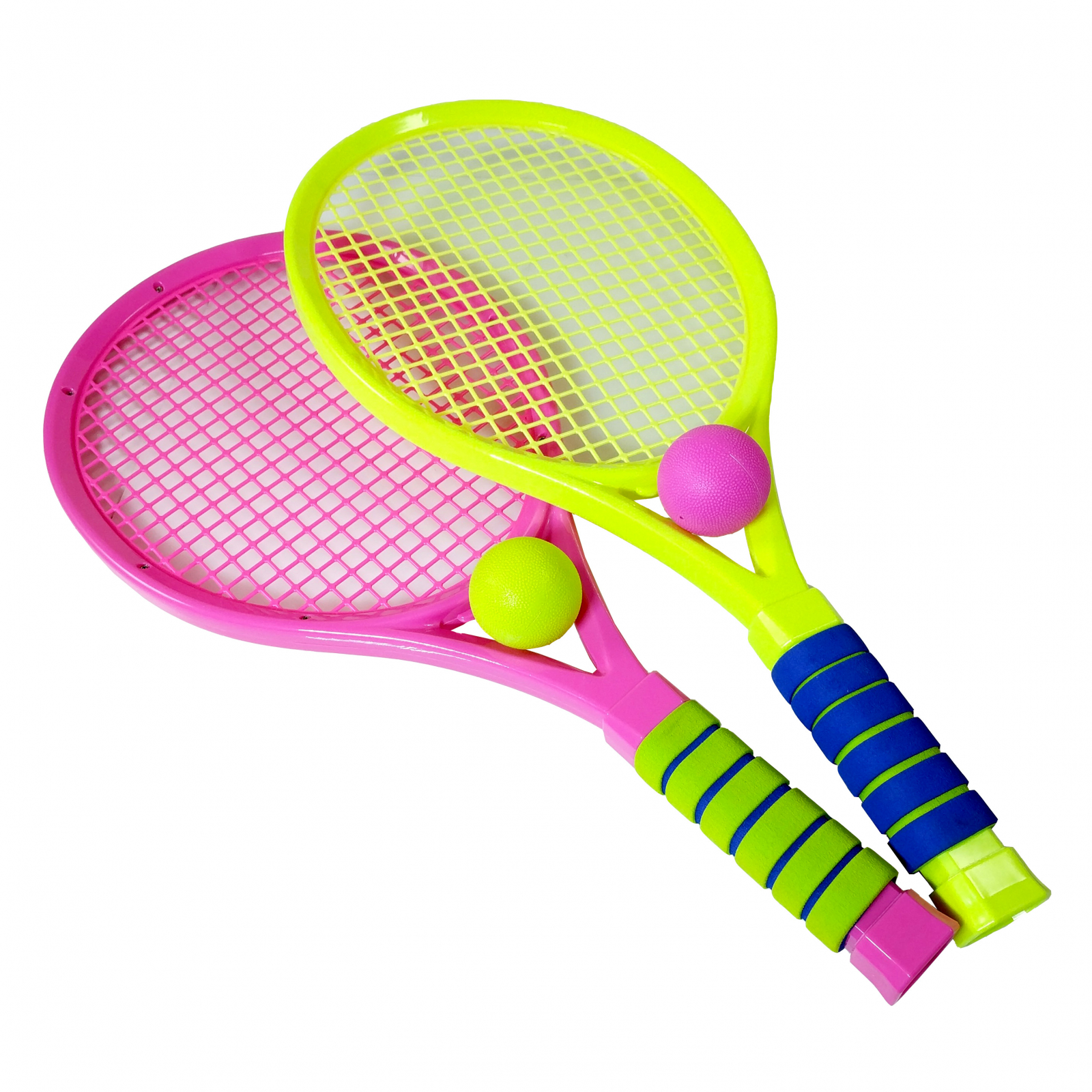 TychoTyke Kids Tennis Rackets Outdoor Exercise - Pink