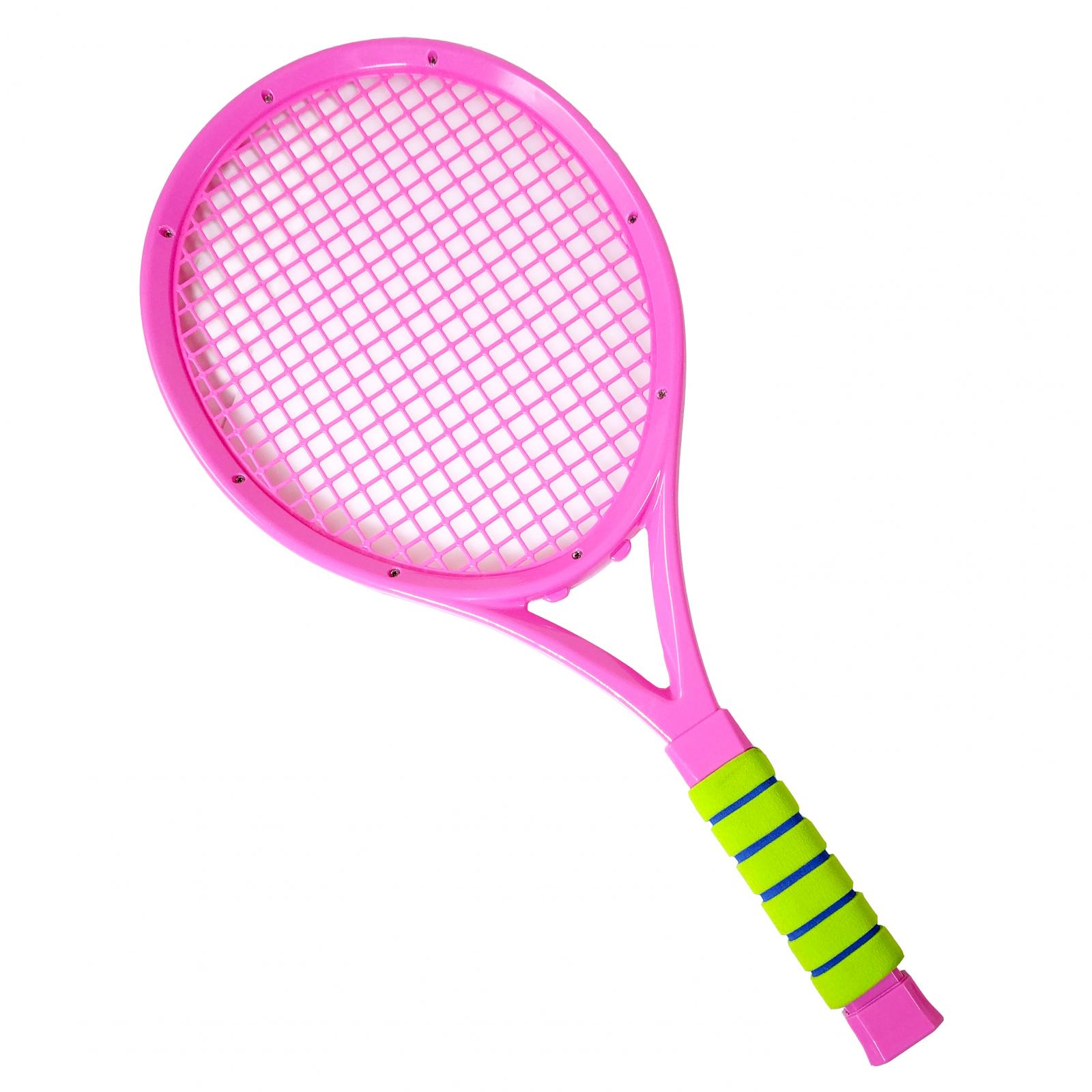 TychoTyke Kids Tennis Rackets Outdoor Exercise - Pink