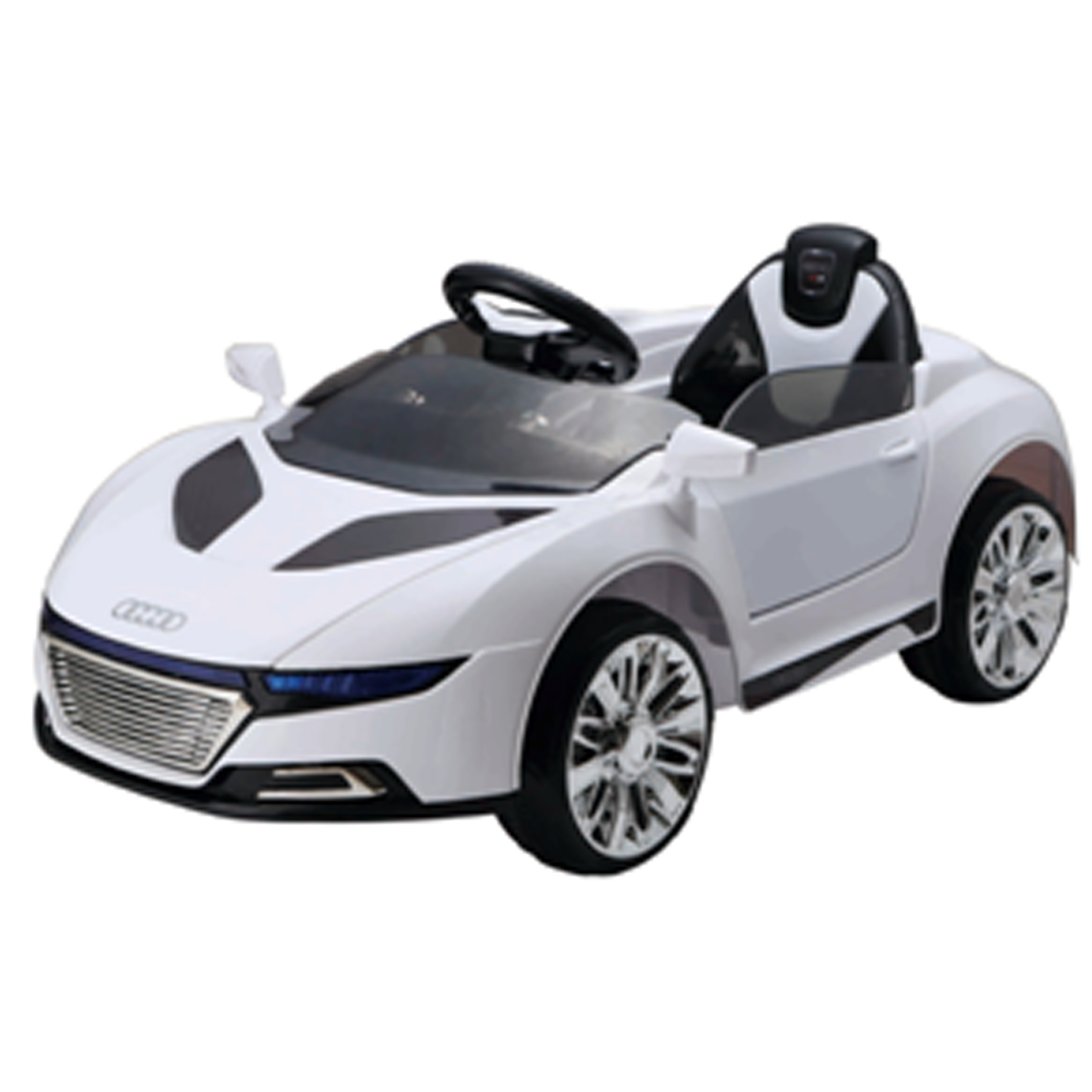 Delightful Audi Style Remote Control Super 6V Kids And Boys Ride On Sports Car Battery  Powered Wheels