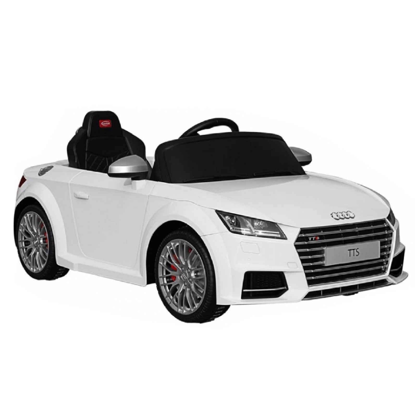 Wonderful White 2017 Audi TT Battery Powered Kids Car With Remote Control