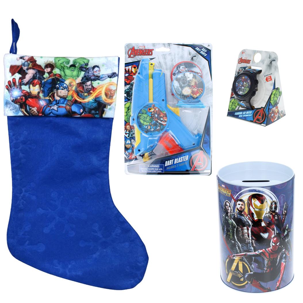 Marvel Avengers Holiday Stocking Stuffer Bundle Gift
