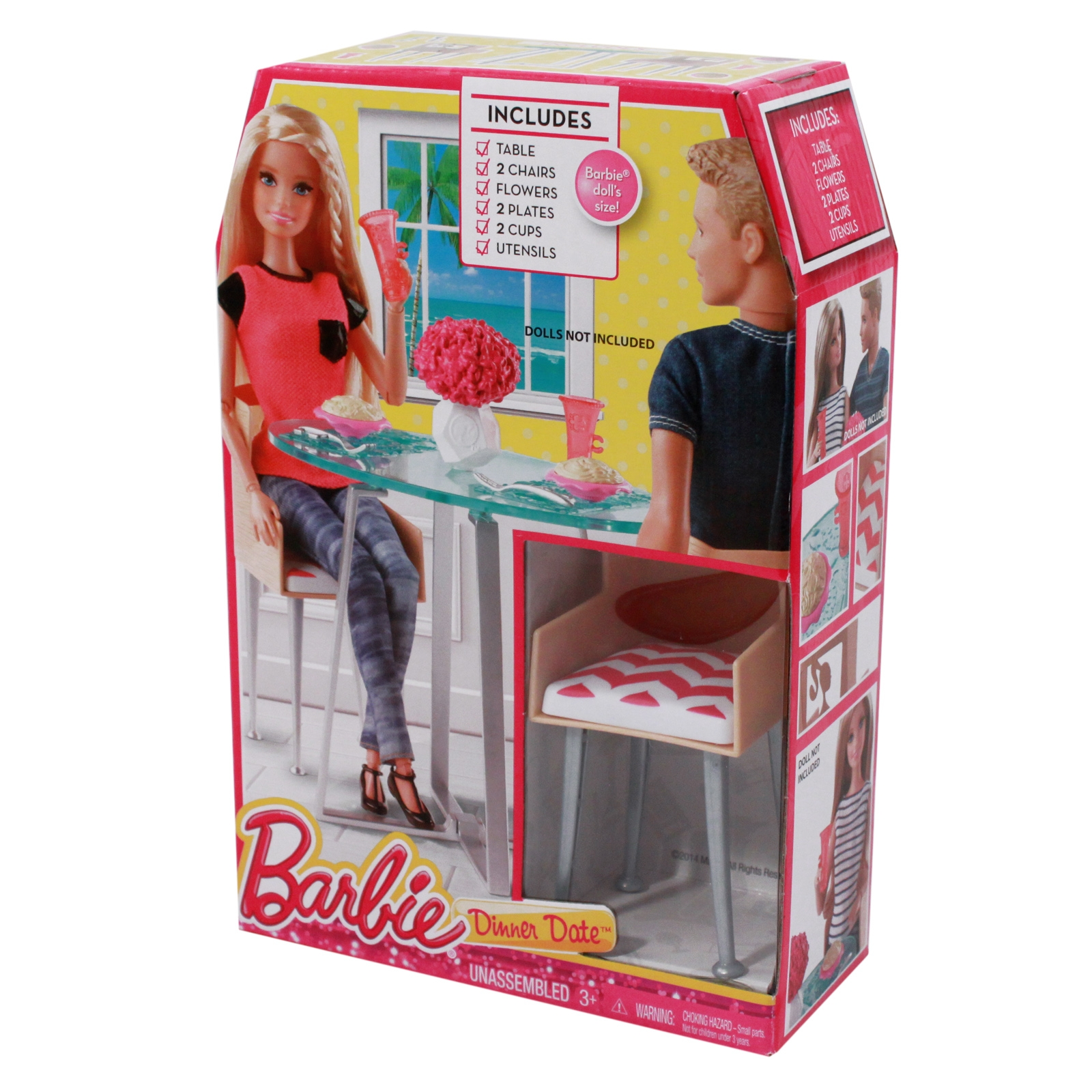 Mesmerizing Barbie Dining Room Set Photos Best idea home  : barbie dinner set 1 from extrasoft.us size 1600 x 1600 jpeg 952kB