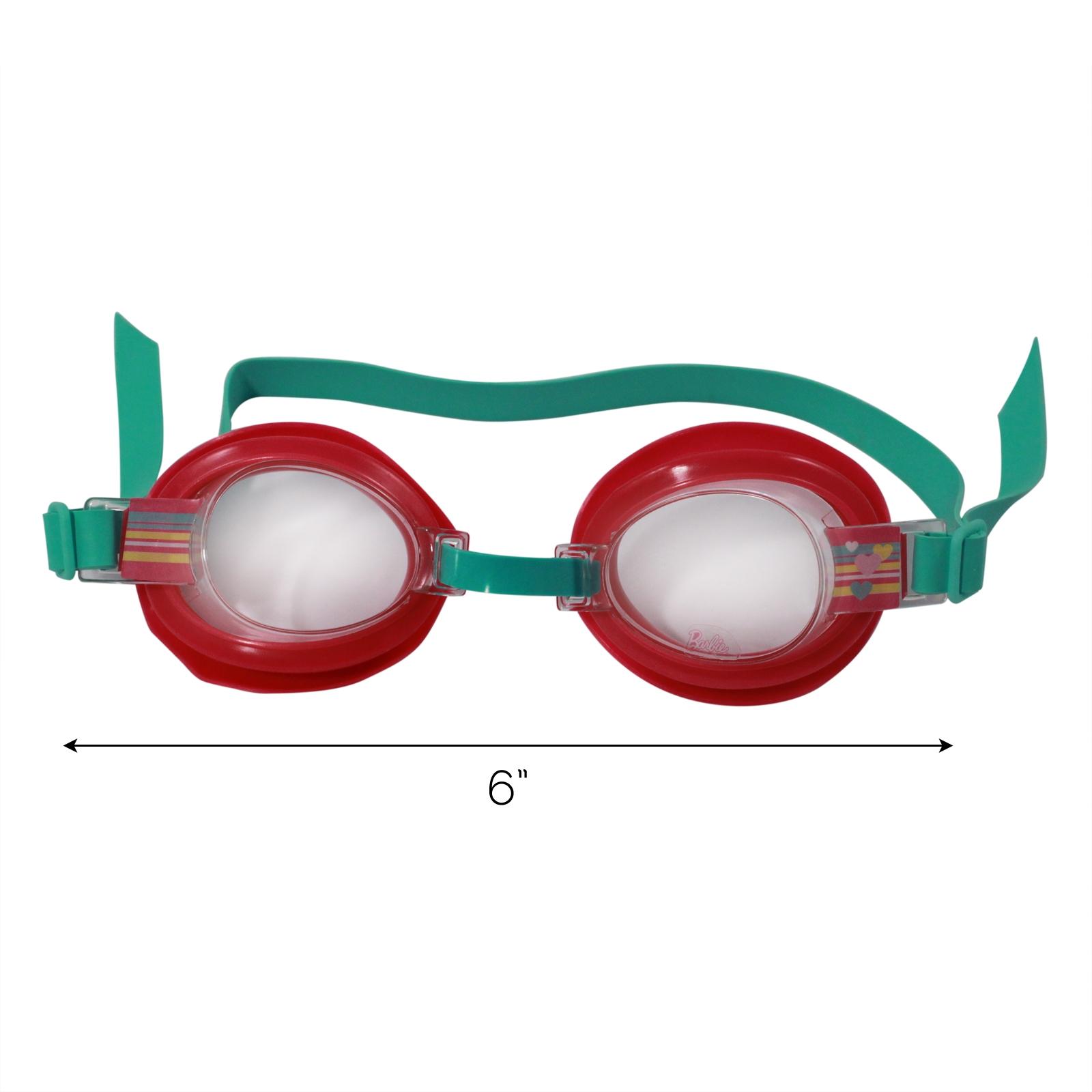 Mattel Barbie Big Time Splash Water Tight Swim Goggles