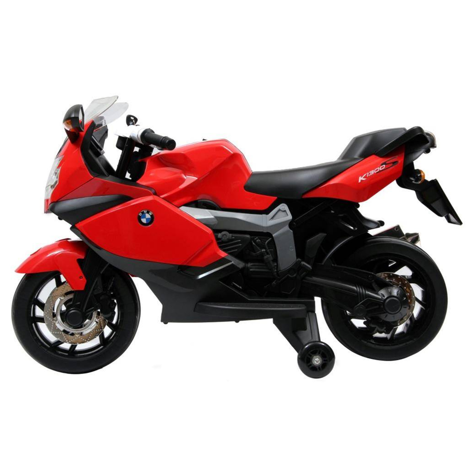 Licensed BMW Motorcycle 12V Kids Battery Powered Ride On Car Fun Toy - Red