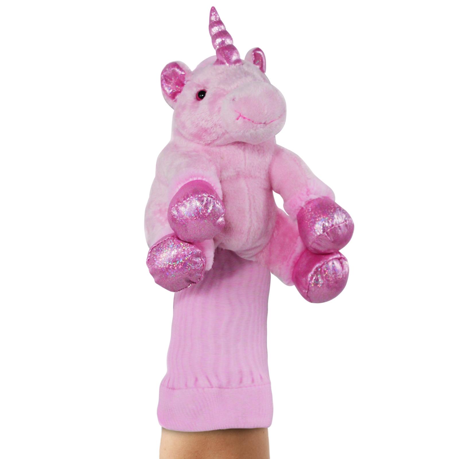 Eunice the Unicorn Plush Kids Hand Puppet