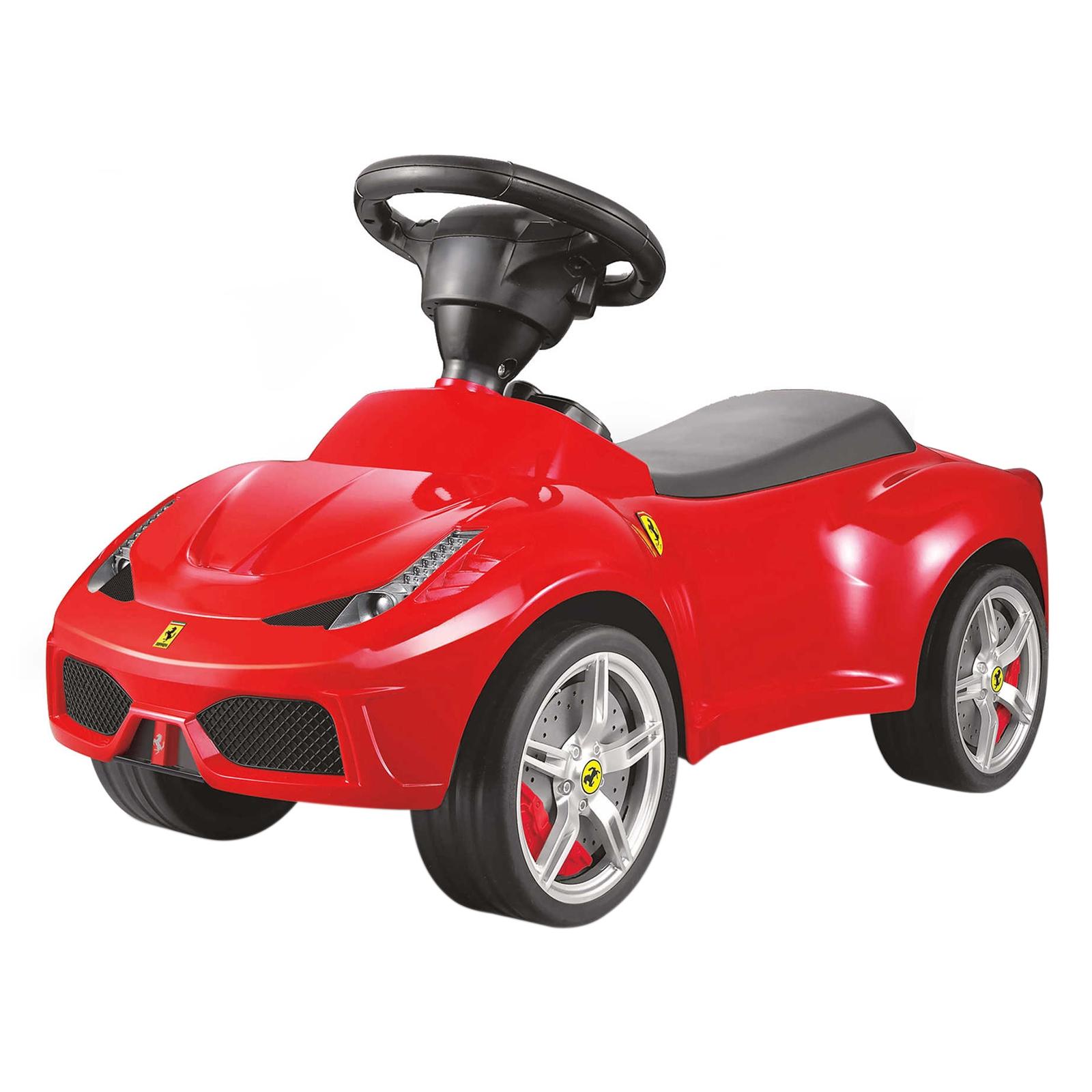 licensed ferrari f 12 kids ride on push car red