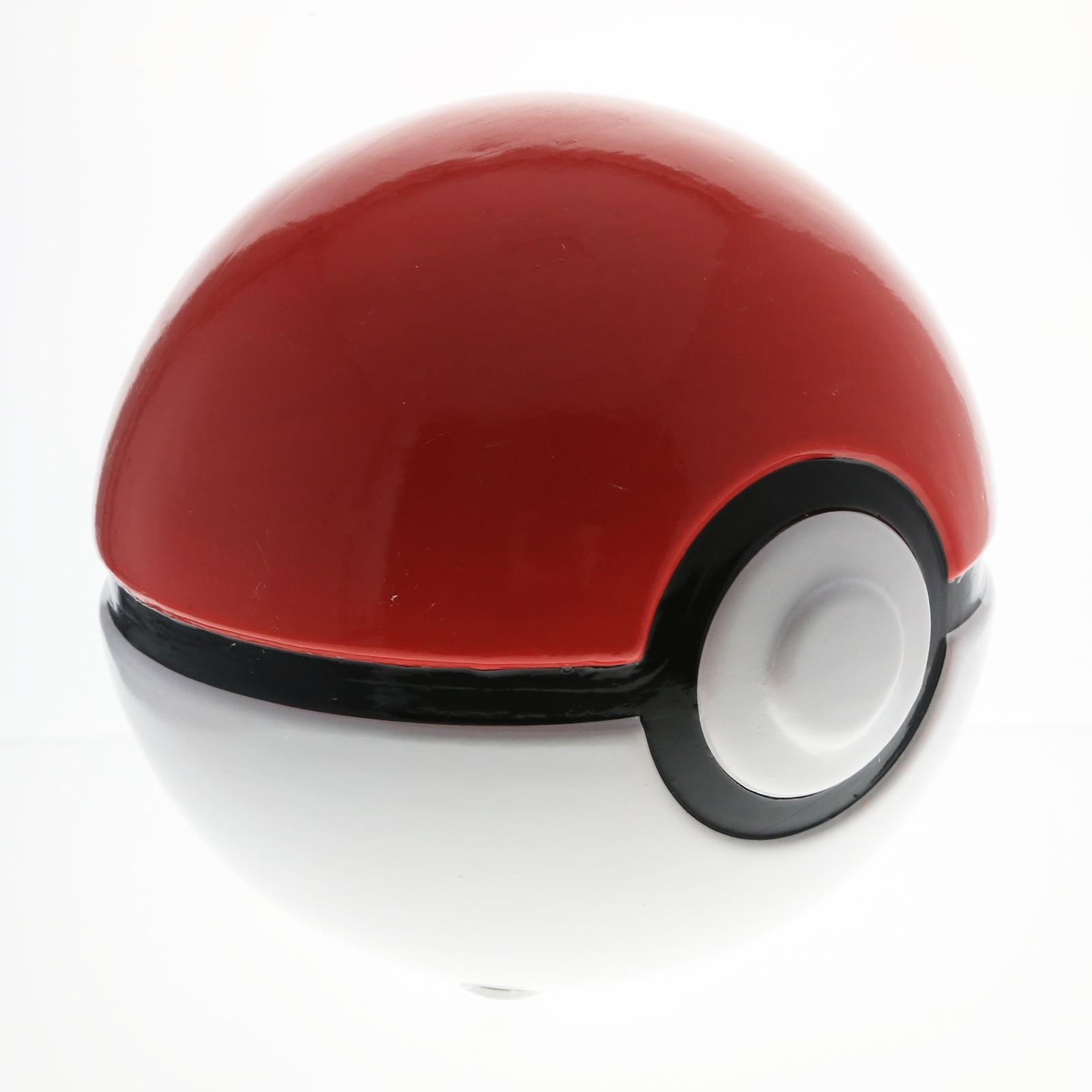 Nintendo Pokemon Pokeball Piggy Bank Kids Ceramic Coin Savings Jar Toy Bank