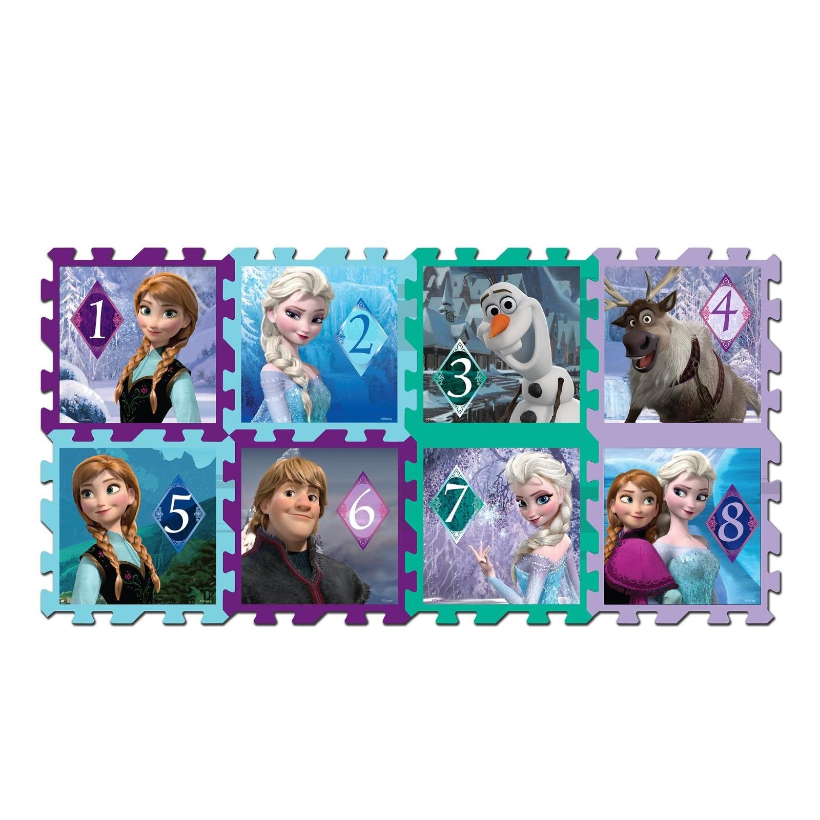 8 Piece Disney Frozen Hopscotch Foam Play Mat Set
