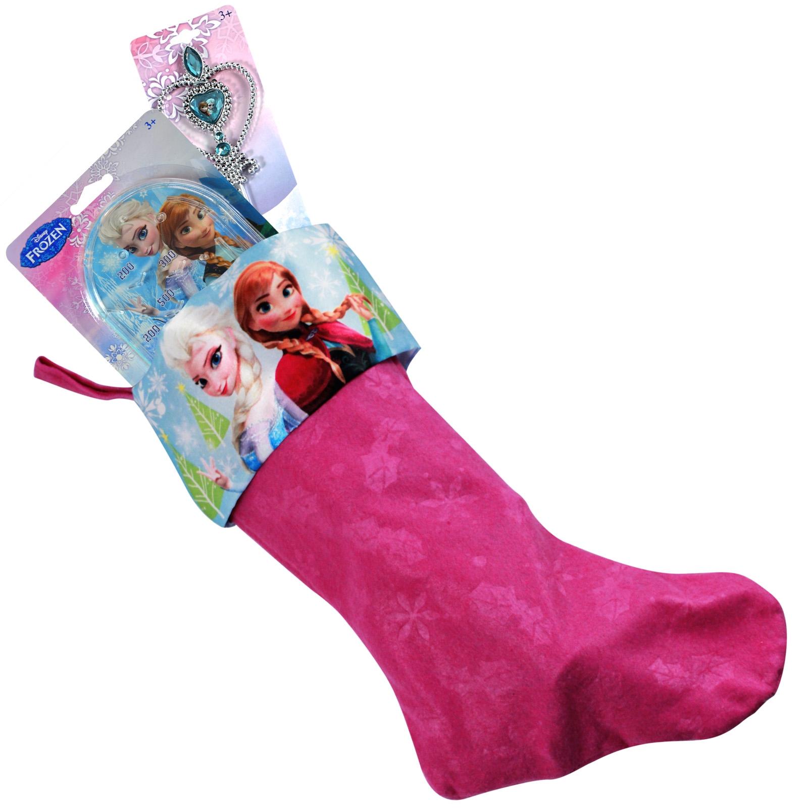 Stocking FIllers with Xmas Stocking Bundle Frozen Movie Disney