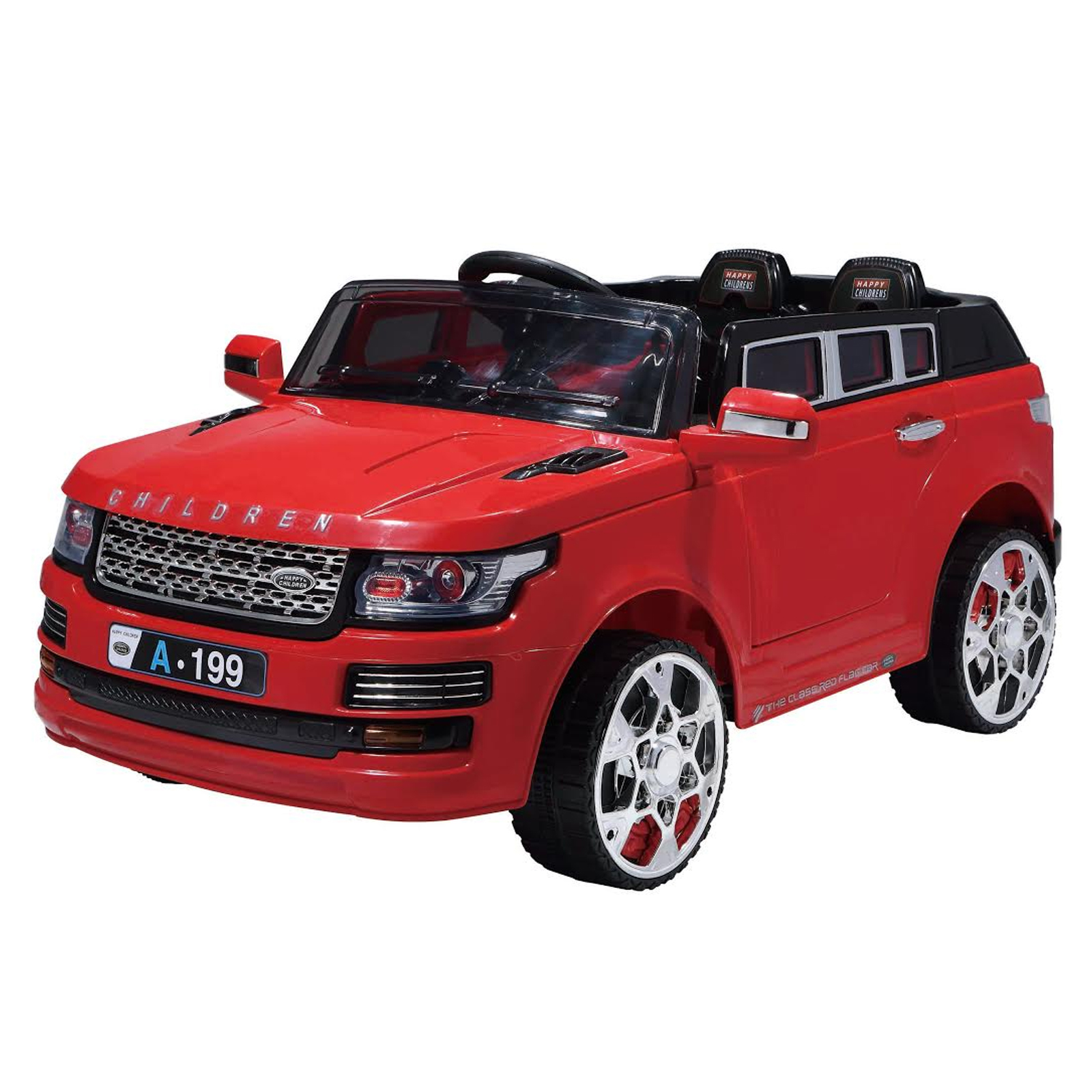 Luxury SUV 12V Kids Battery Powered Ride On Car in Red