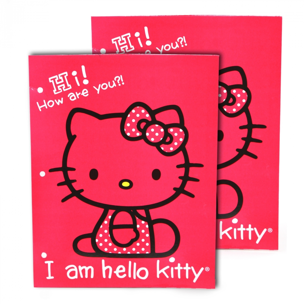 Folders de Hello Kitty Kitty Portfolio Folders