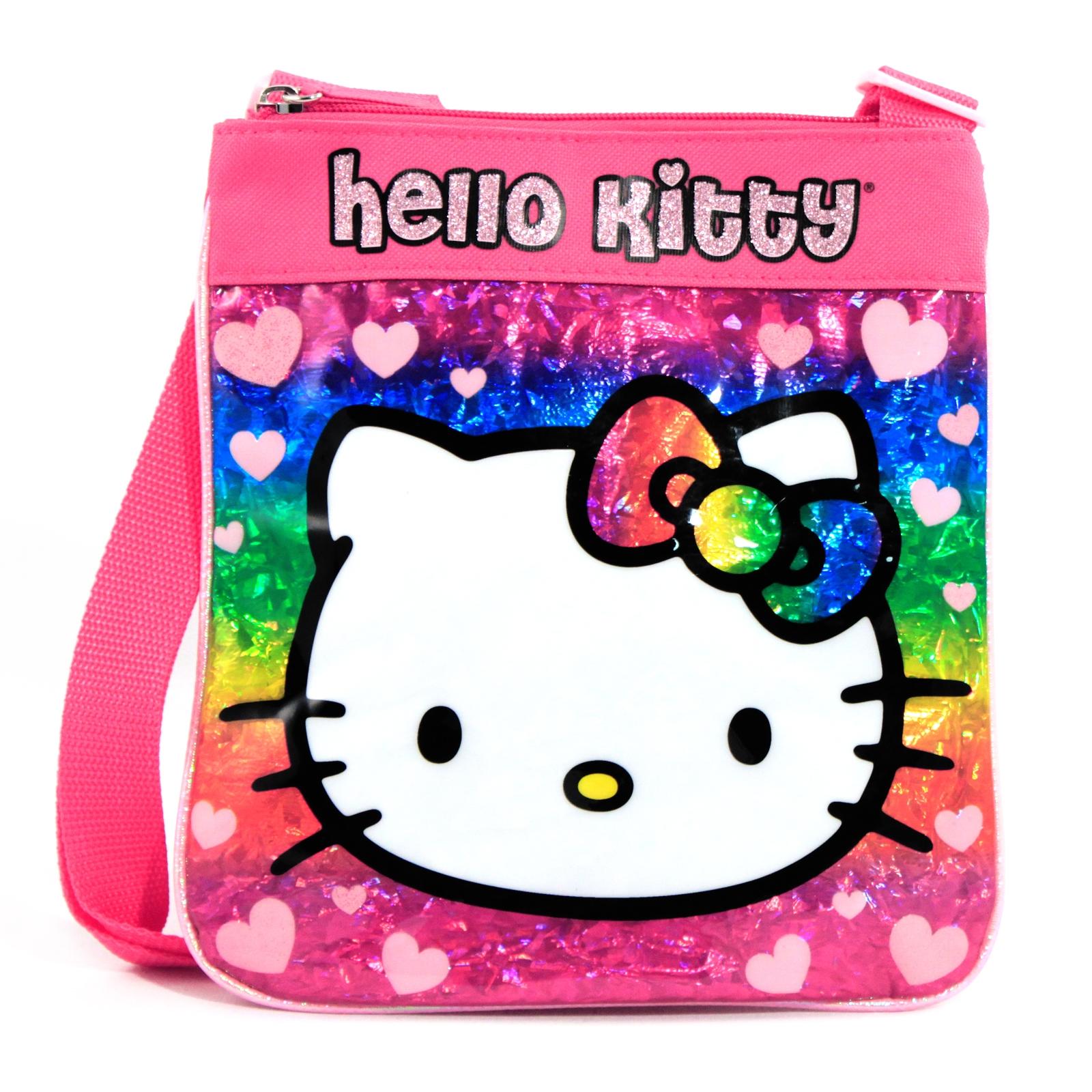 Sanrio Hello Kitty Girls Passport Messenger Bag