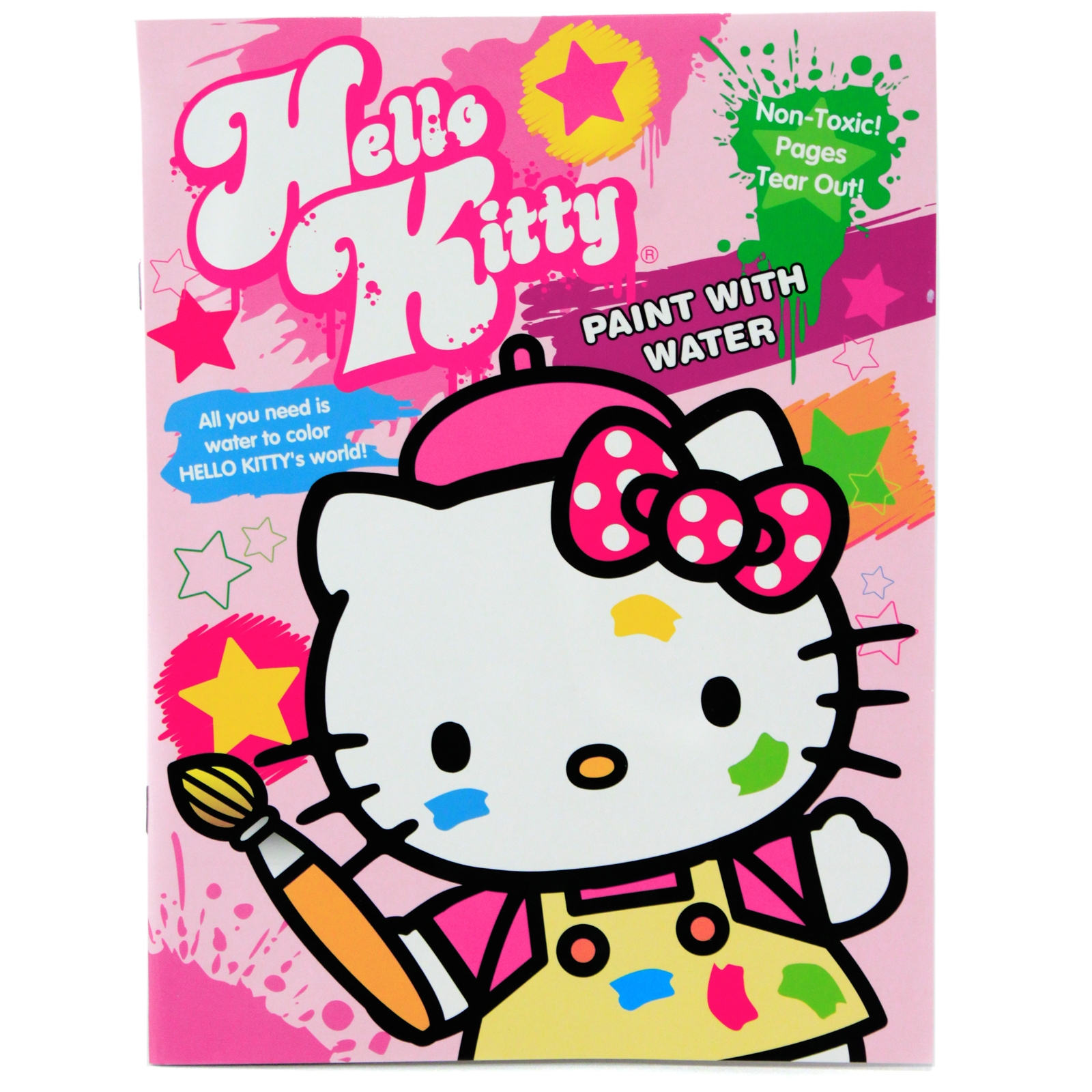hello kitty kids water color painting book - Kids Paint Book