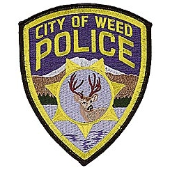 City of Weed Police Patch