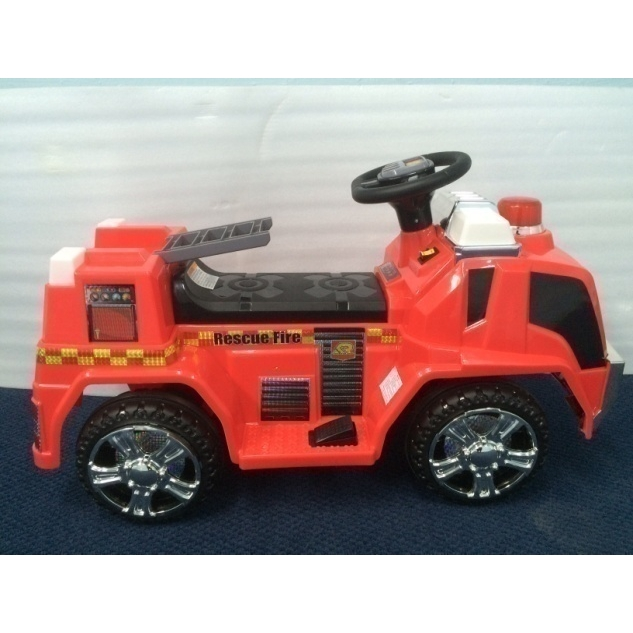 Kids Ride On Fire Truck with Remote Control Access
