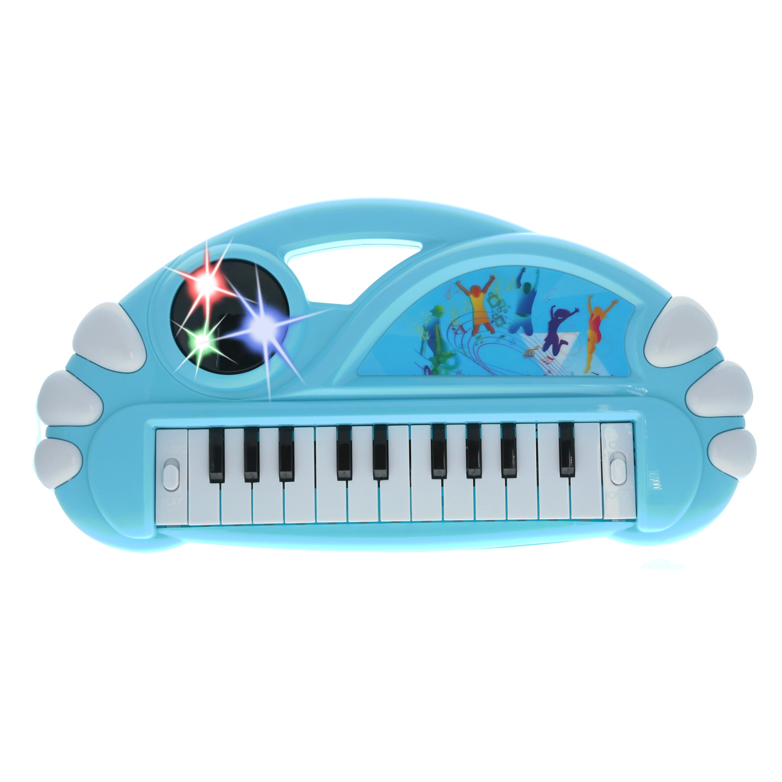 KidPlay Organ Musical Instrument Electronic Keyboard Kids Toy - Blue