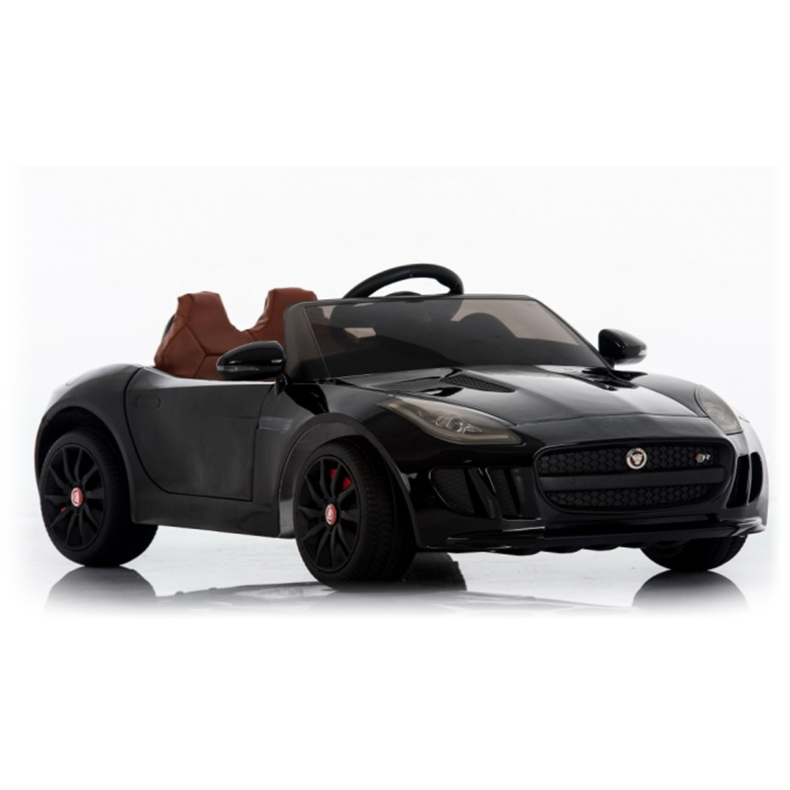Licensed Jaguar F-Type 12V Kids Battery Powered Ride On Car Black