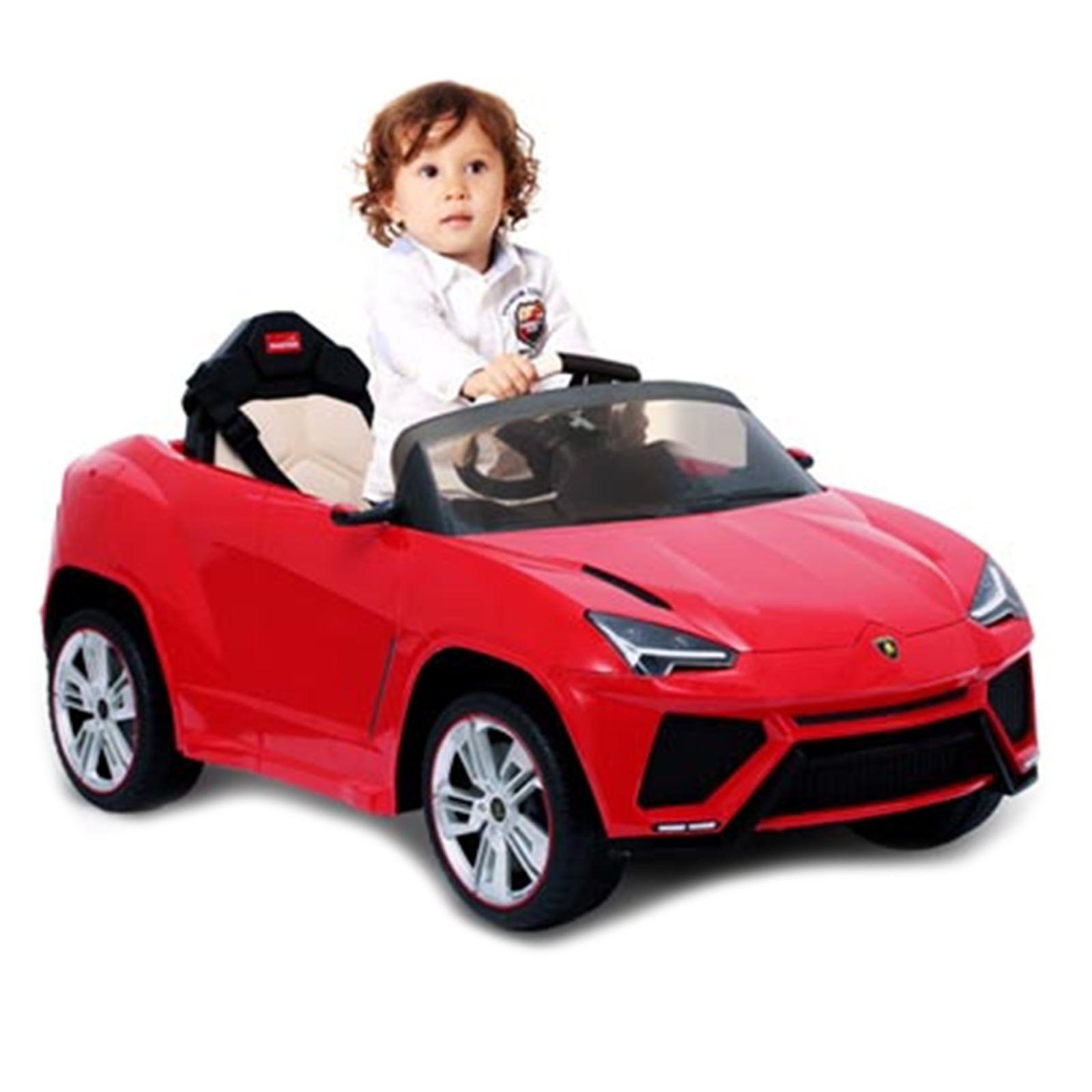 Lamborghini Urus 12V Licensed Ride On Car - Red
