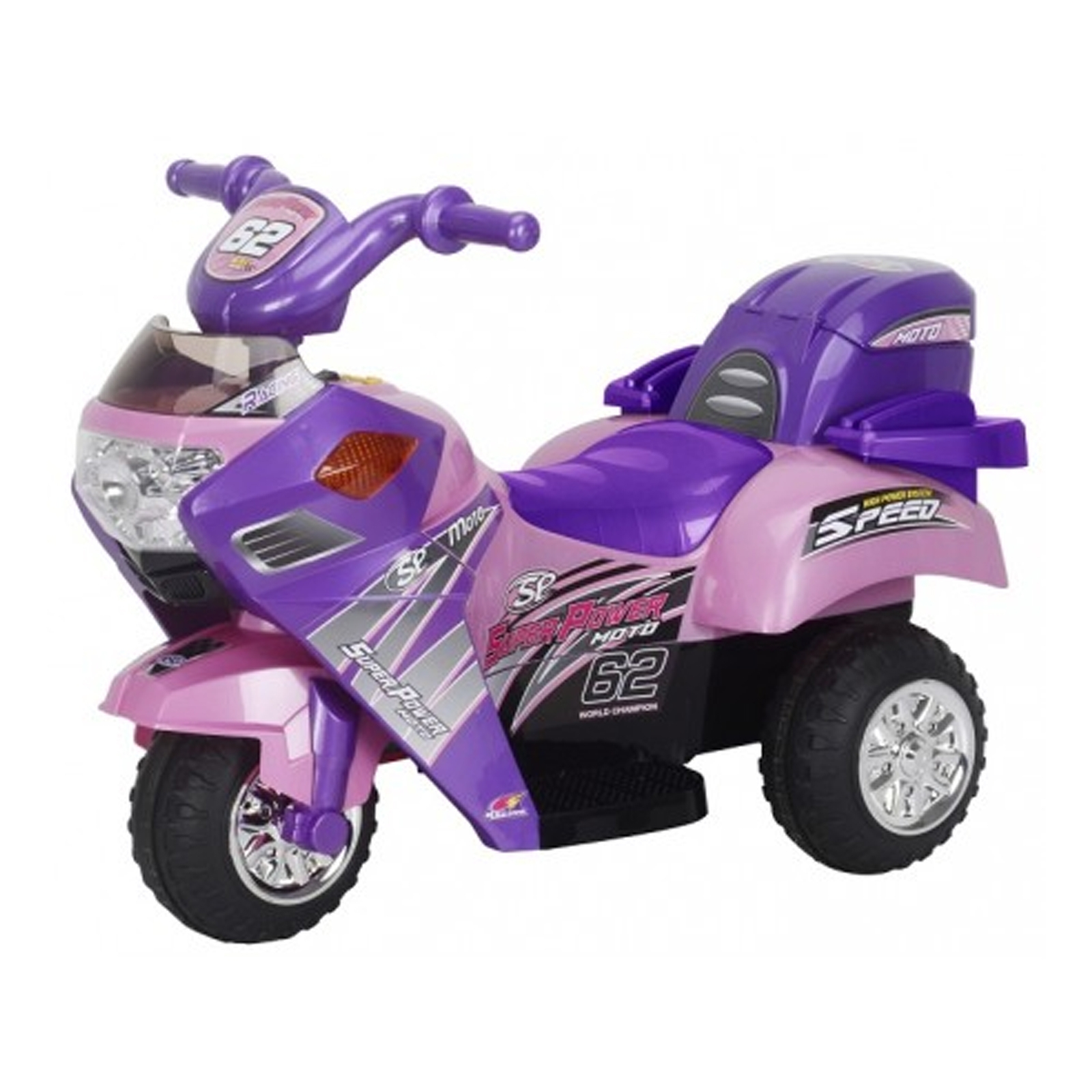 Little 3 Wheeler Pink Kids Ride 6V Mini Motorcycle