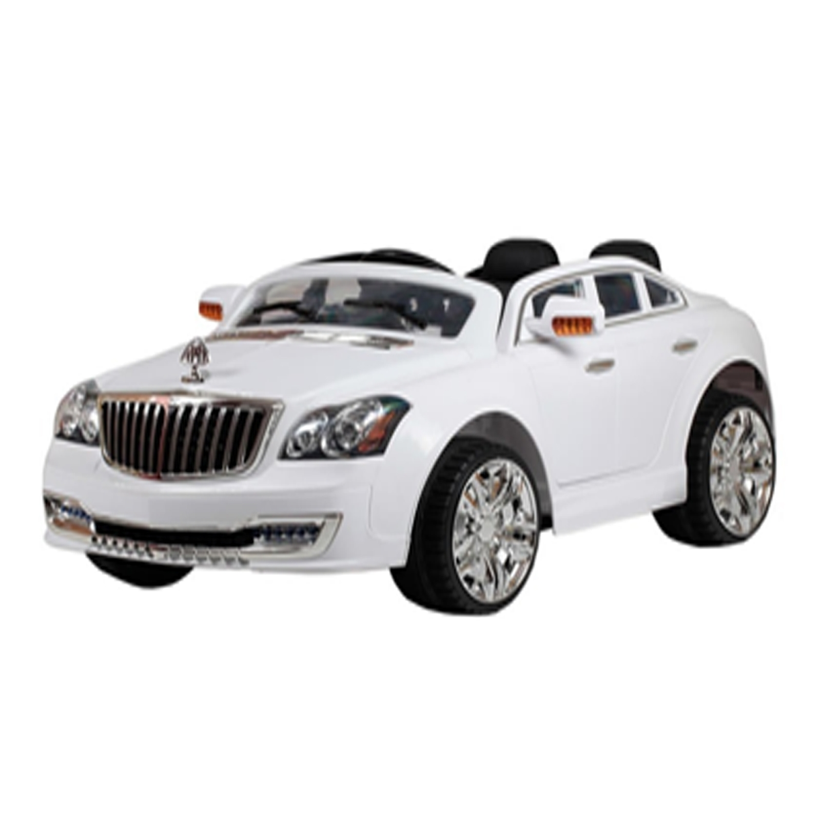 mb luxury 12v kids battery powered ride on car in white