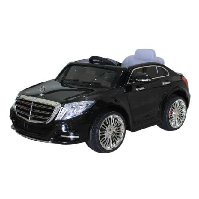 Mercedes S600 12V Licensed Battery Powered Kids Ride On Car Black