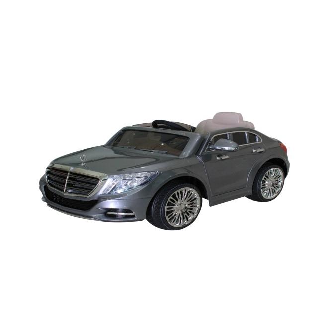 Mercedes S600 12V Licensed Battery Powered Kids Ride On Car Grey