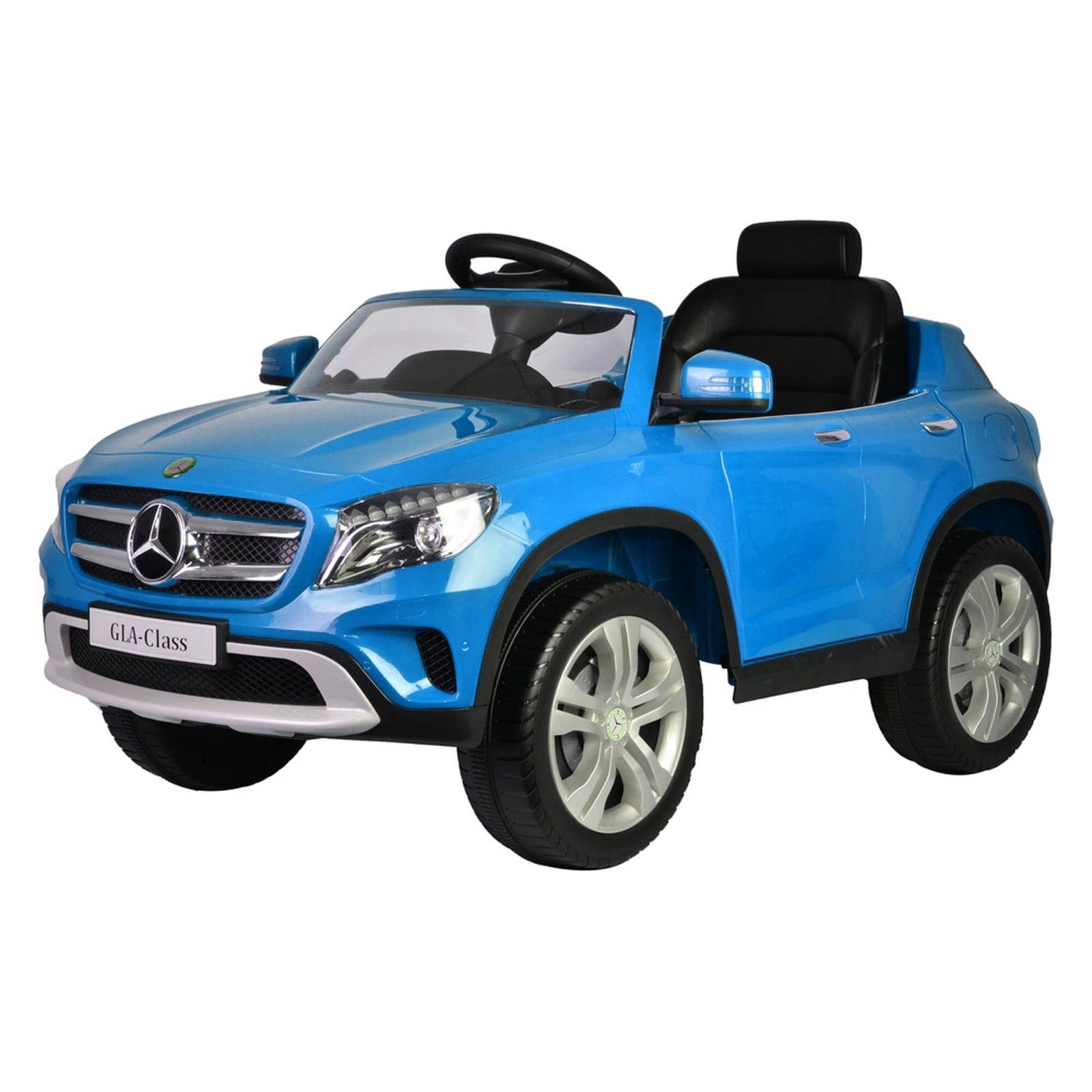 Mercedes Benz GLA 12V Battery Powered Licensed Kids Ride On Car - Blue