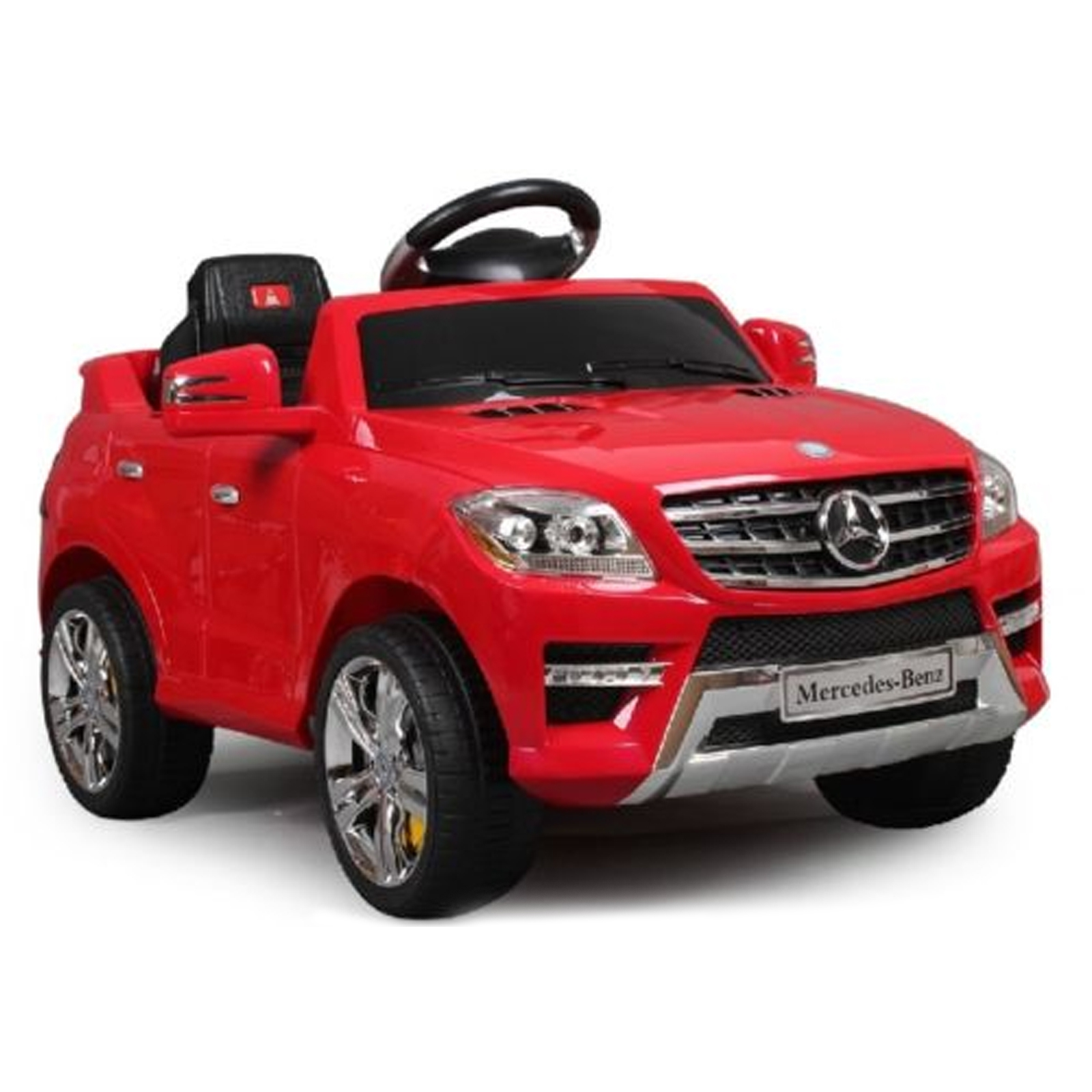 Licensed mercedes benz ml 350 6v kids battery powered car for Mercedes benz truck toys