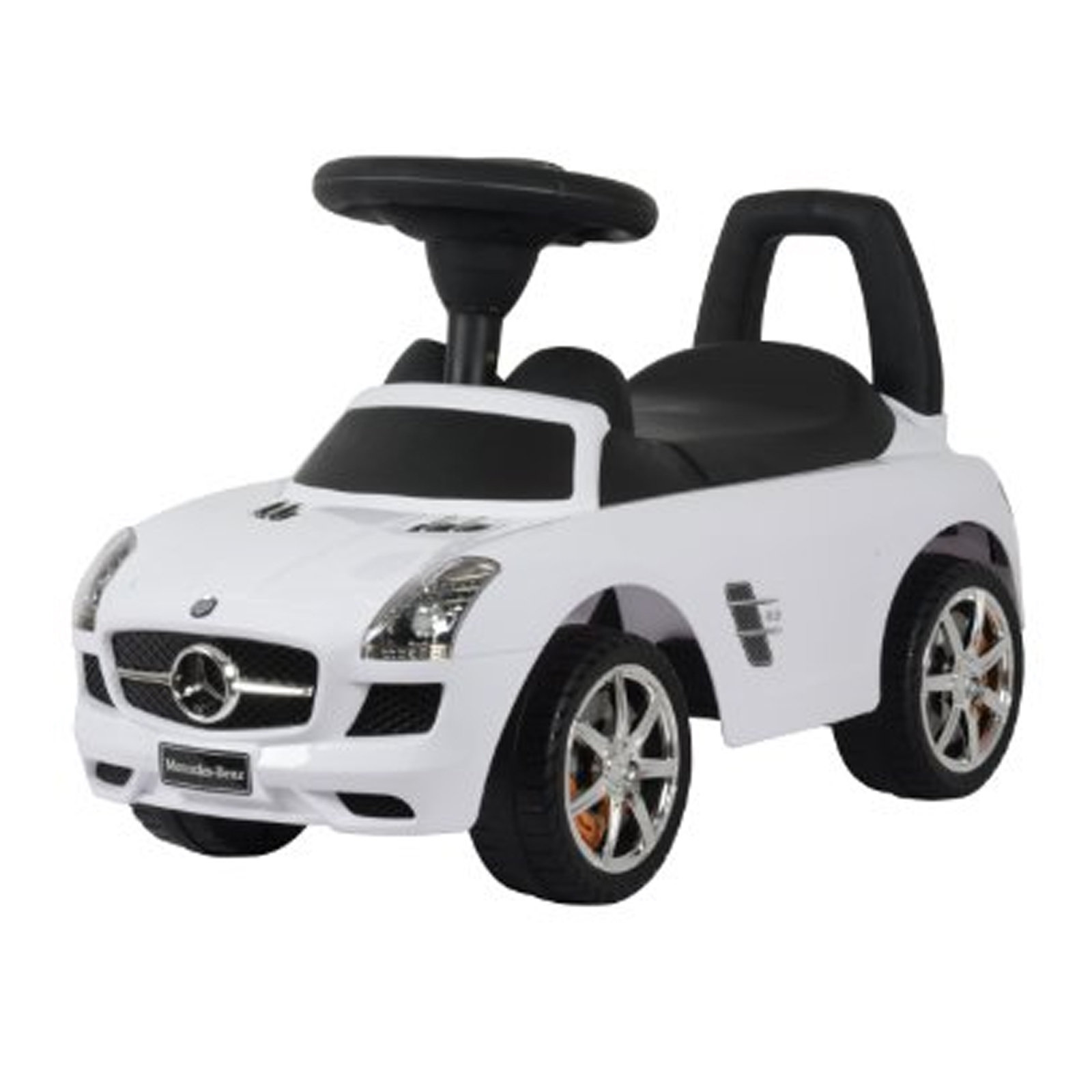 Licensed Mercedes Benz Kids Ride On Push Car in White