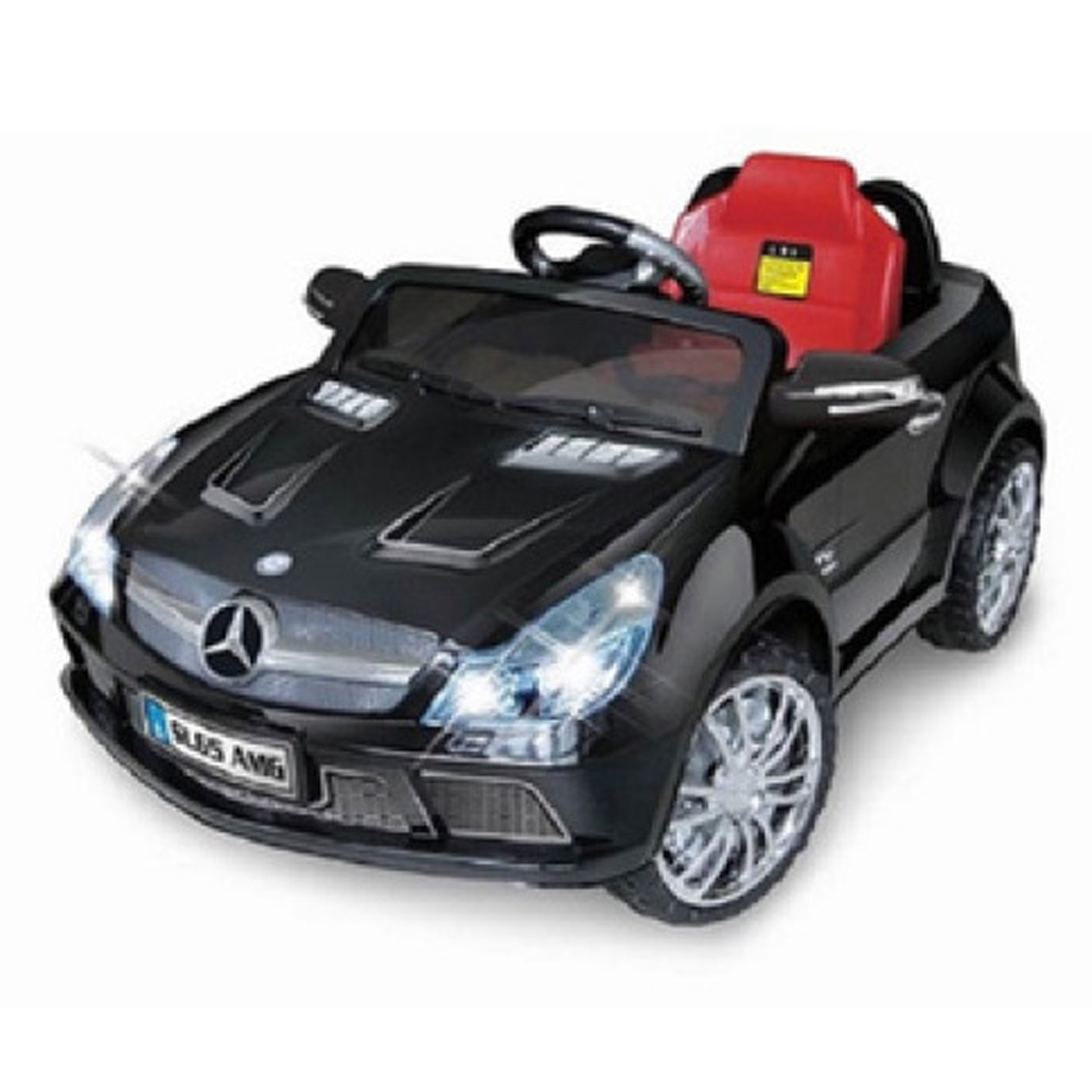 Licensed Mercedes Benz SL-65 12V Kids Battery Powered Ride On Car in Black