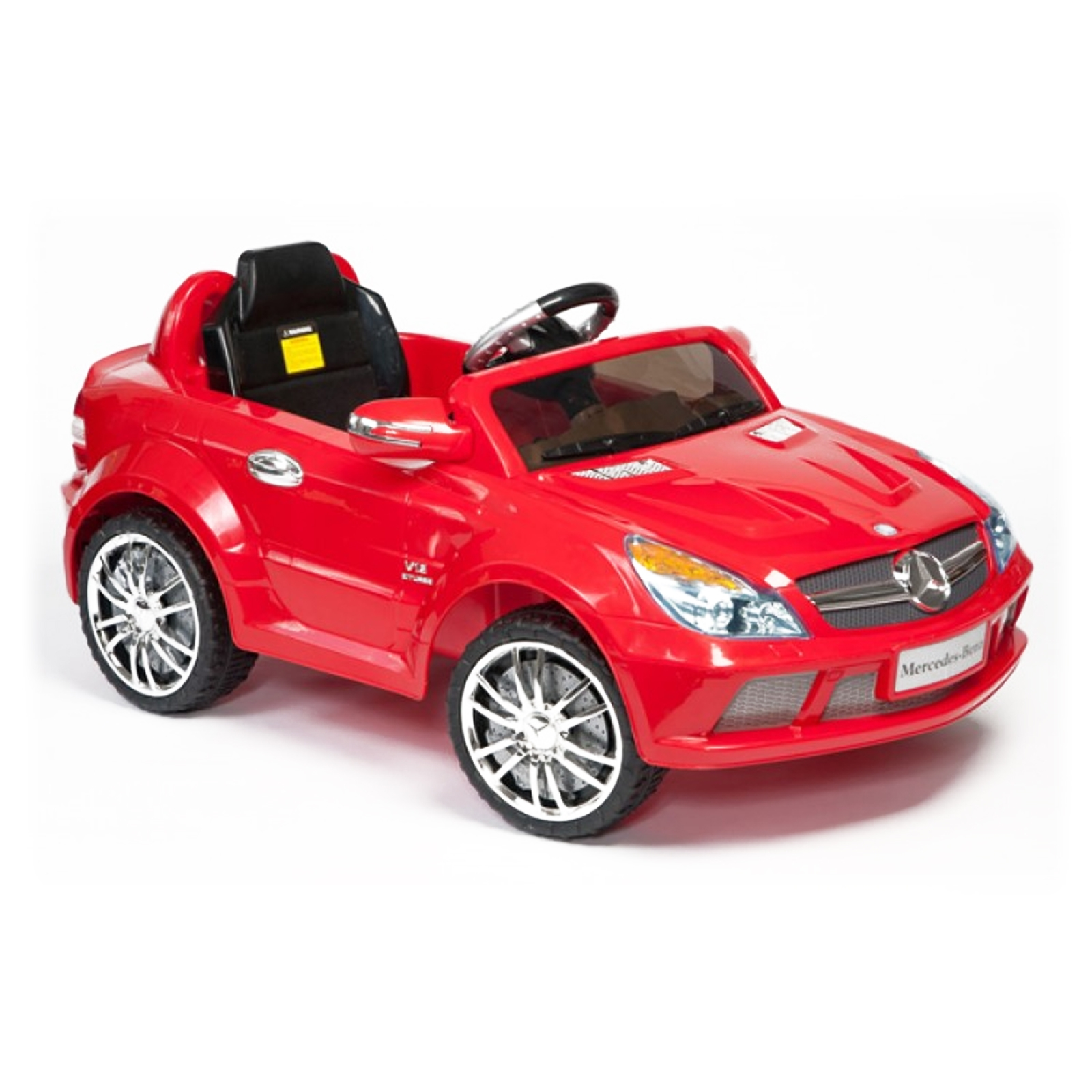 Licensed mercedes benz sl 65 12v kids battery powered ride for Mercedes benz toy car ride on