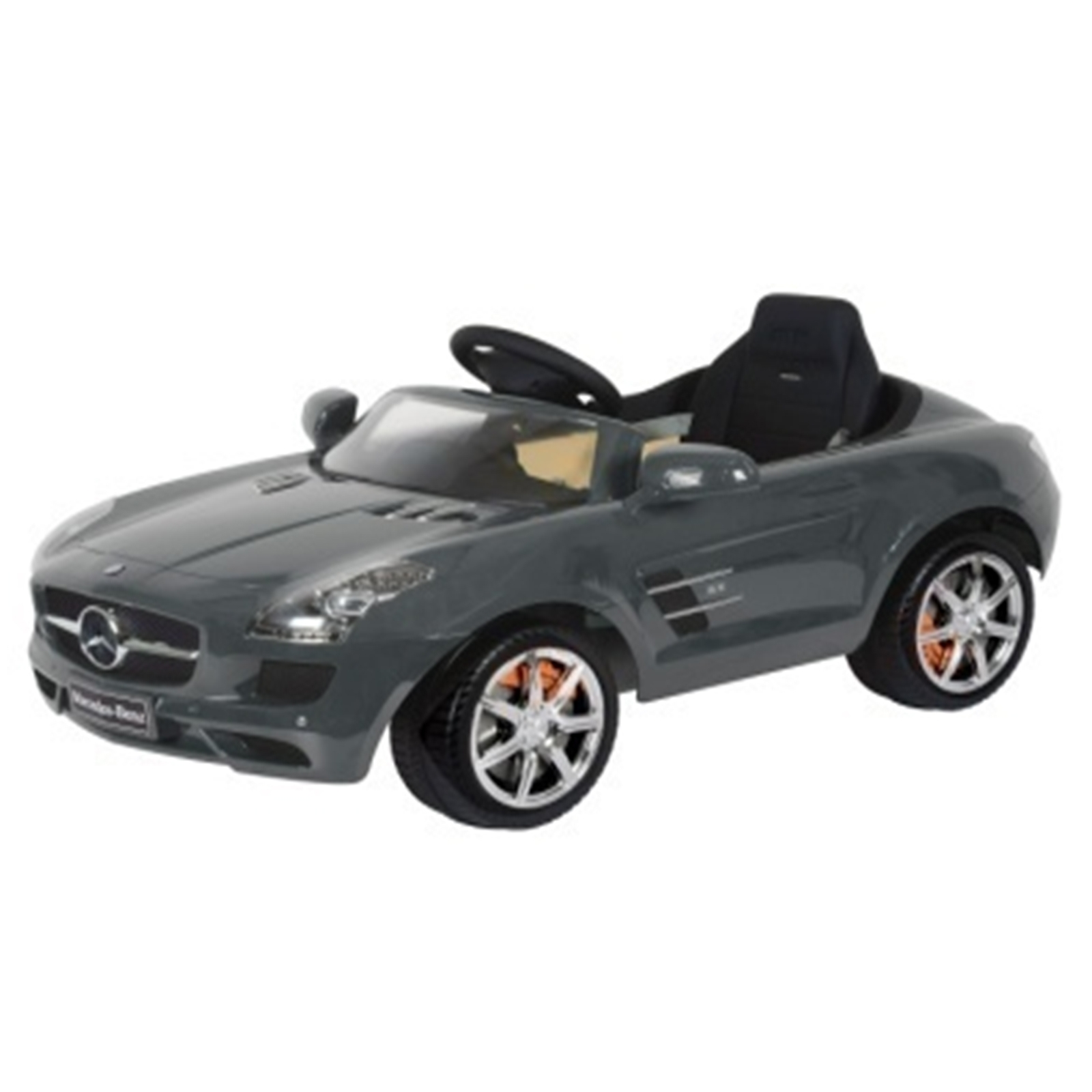 Mercedes SLS AMG RA Kids Ride On Car - 6V Gray