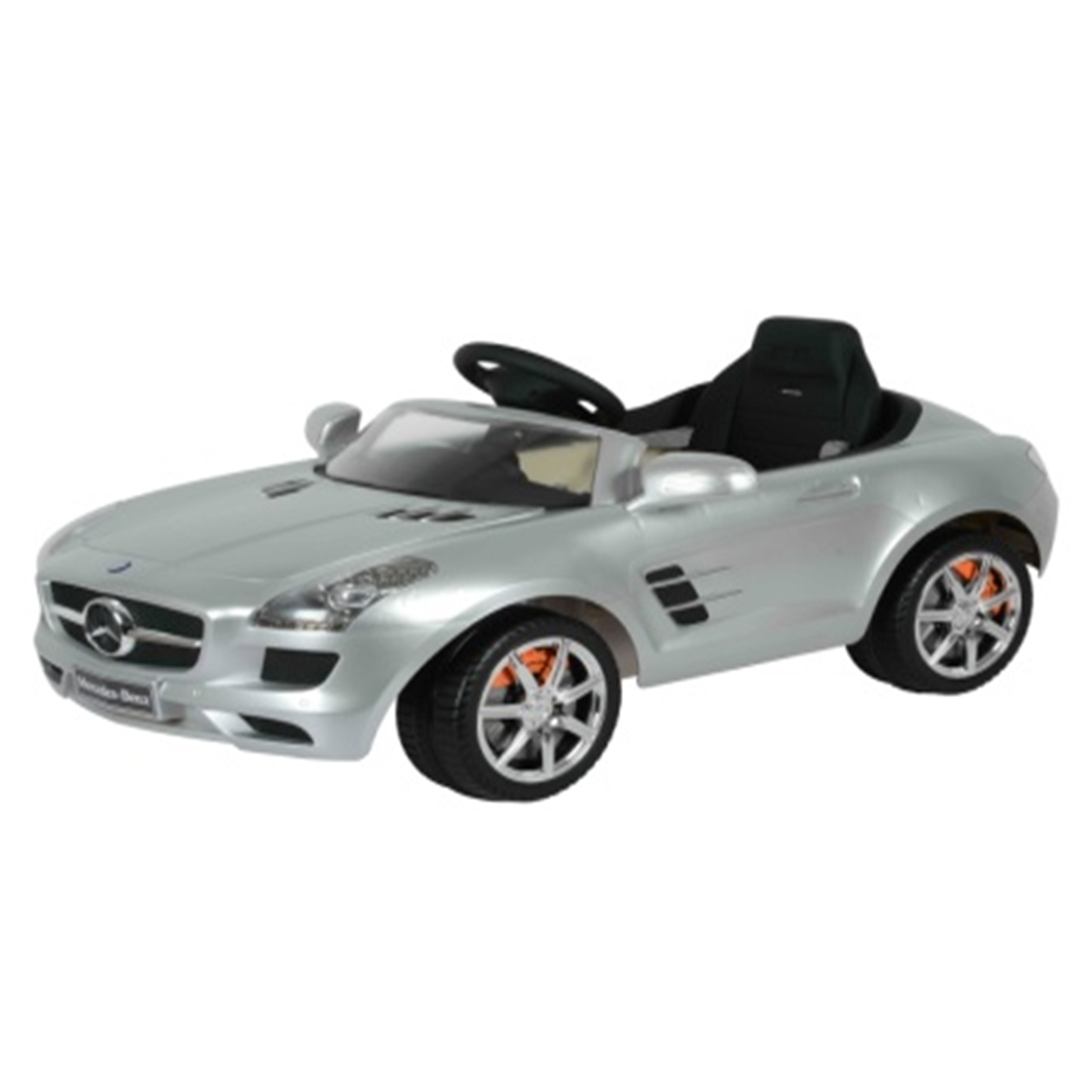 Mercedes SLS AMG RA Kids Ride On Car - 6V Silver