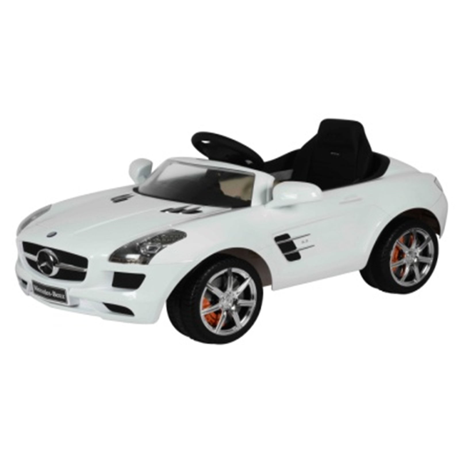 Mercedes SLS AMG RA Kids Ride On Car - 6V White
