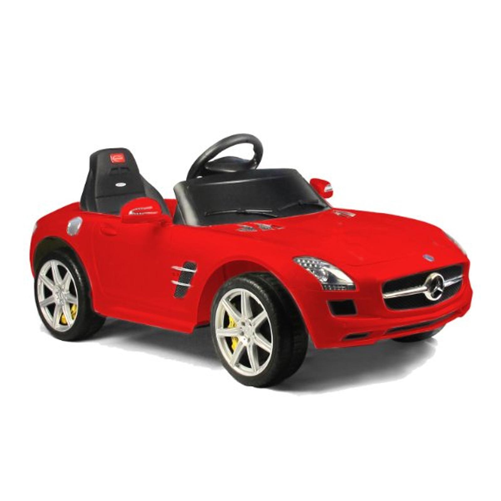 Licensed Mercedes Benz SLS 6V Kids Battery Powered Ride On Car in Red
