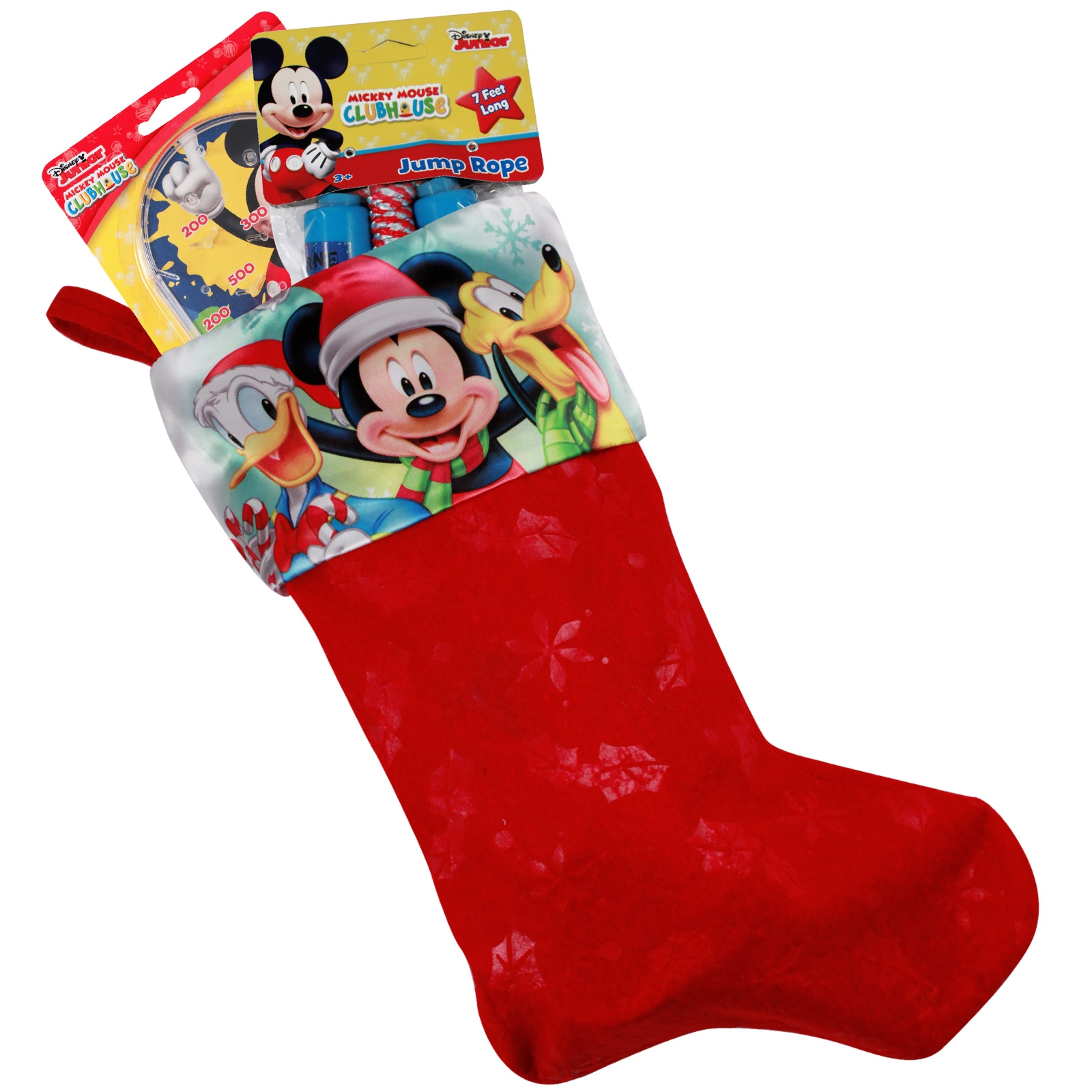 disney mickey mouse clubhouse kids christmas stocking gift set - Mickey Mouse Christmas Stocking