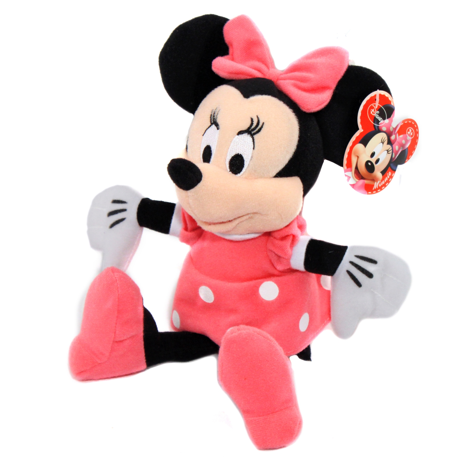 "Disney Minnie Mouse Plush Doll 11"" Girls Toy"