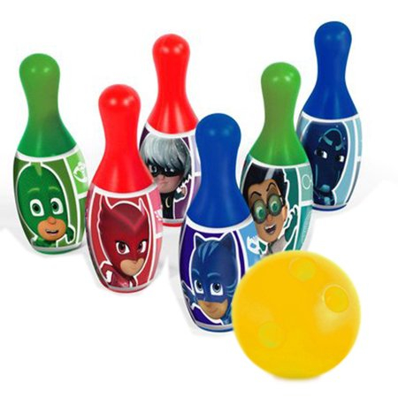 Disney PJ Masks Heroes Villans Bowling Pin Party Indoor Outdoor Family Play Set