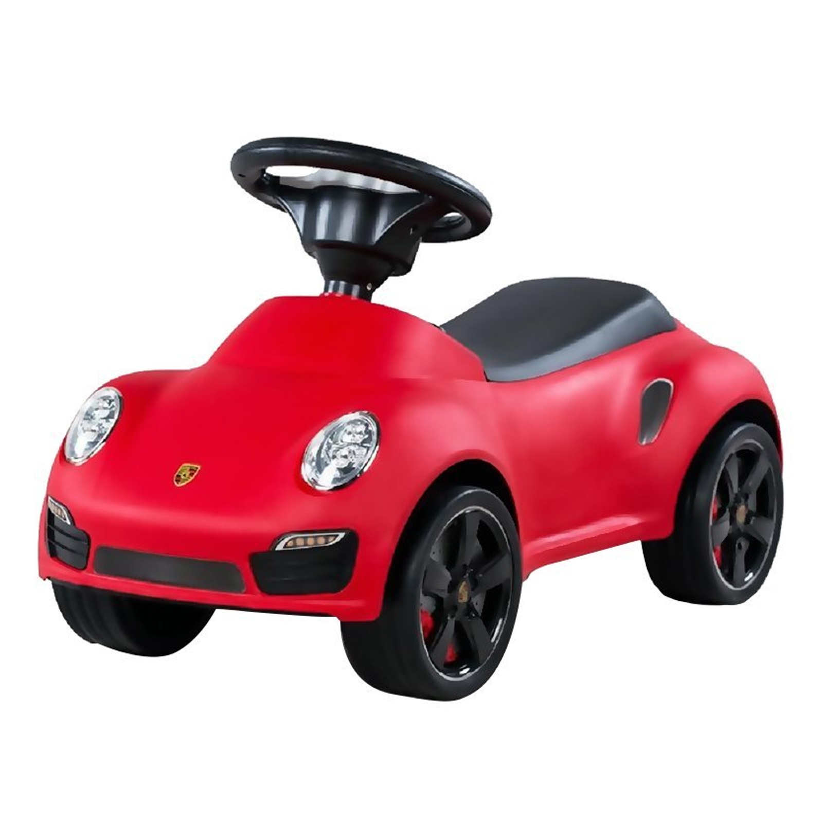 Licensed Porsche 911 Turbo Kids Ride On Push Car in Red
